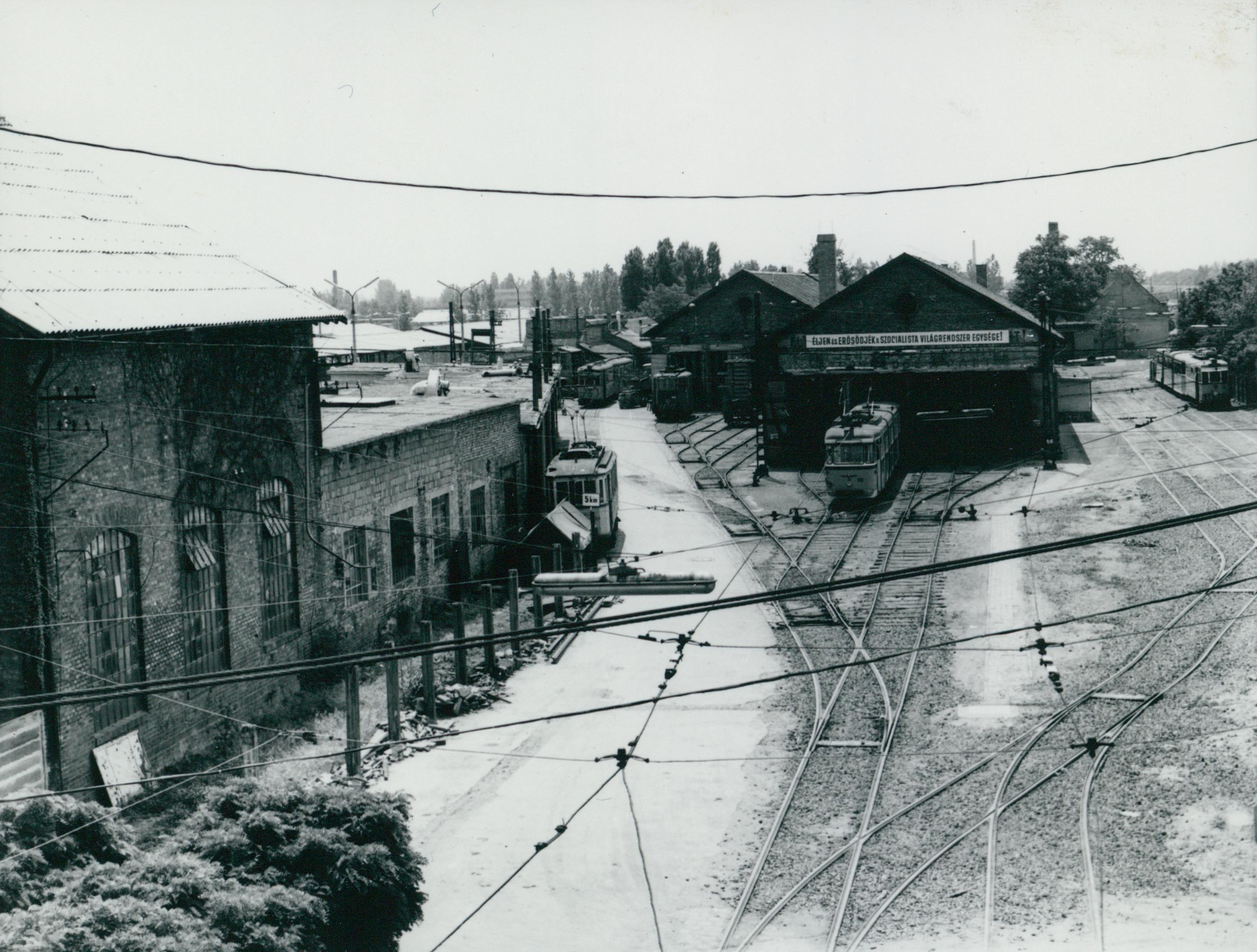 A szegedi Pulz utcai villamos kocsiszín