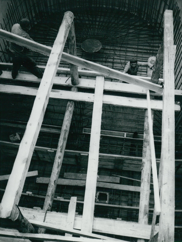 Az észak-déli metróvonal Markusovszky tér alatti lezáró aknája