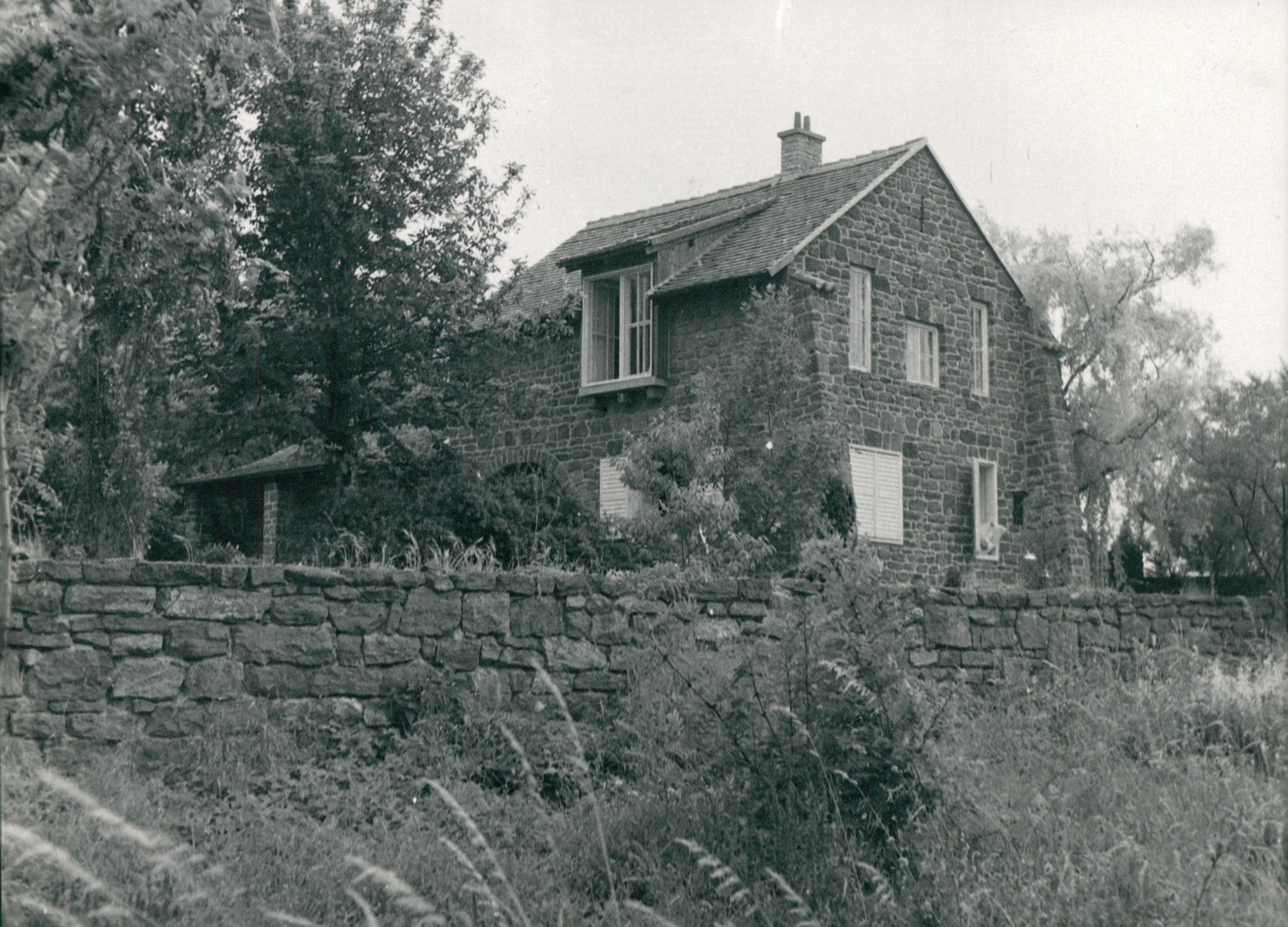 Borsos Miklósék háza Tihanyban