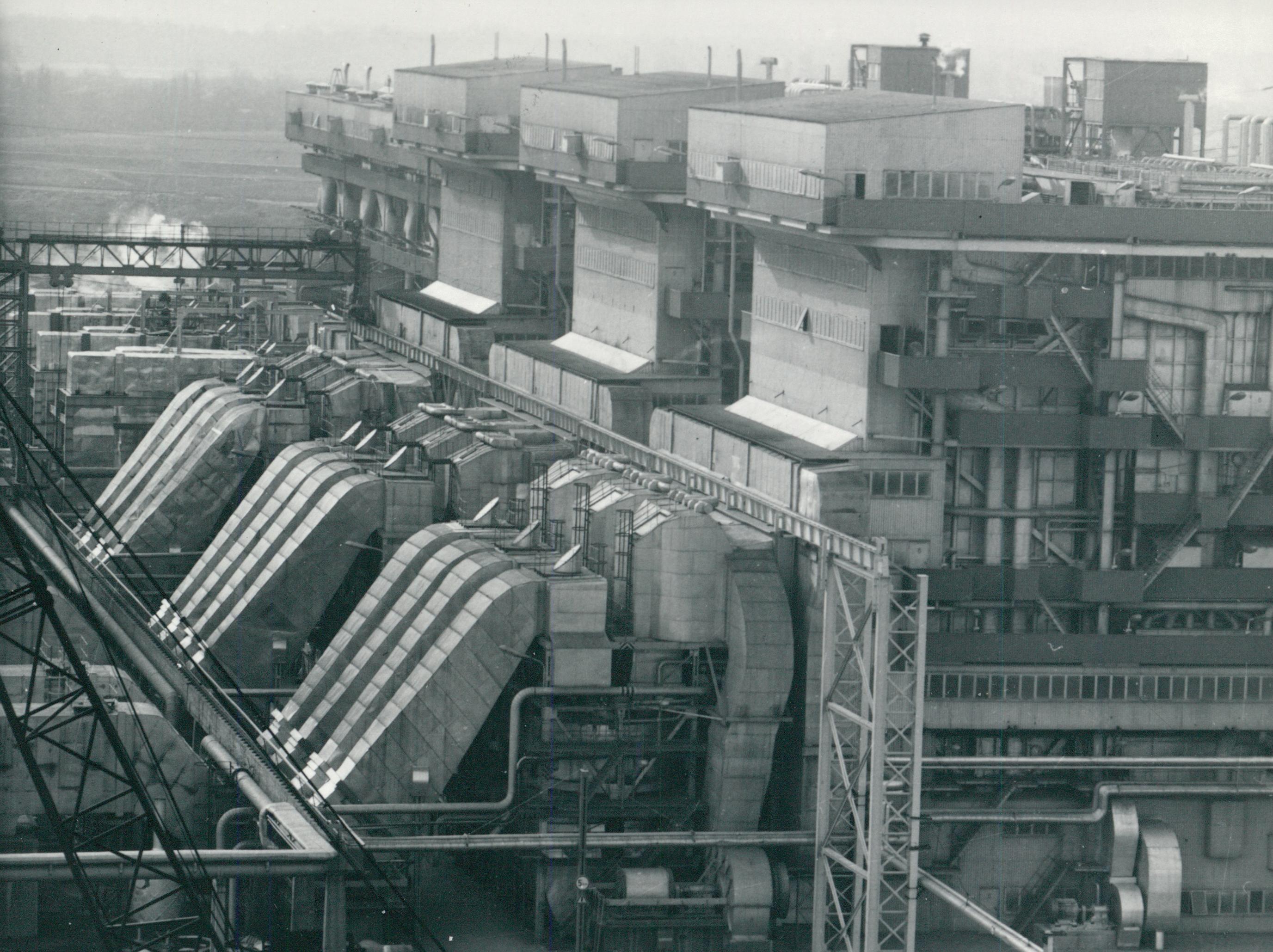 A Dunamenti Erőmű látképe
