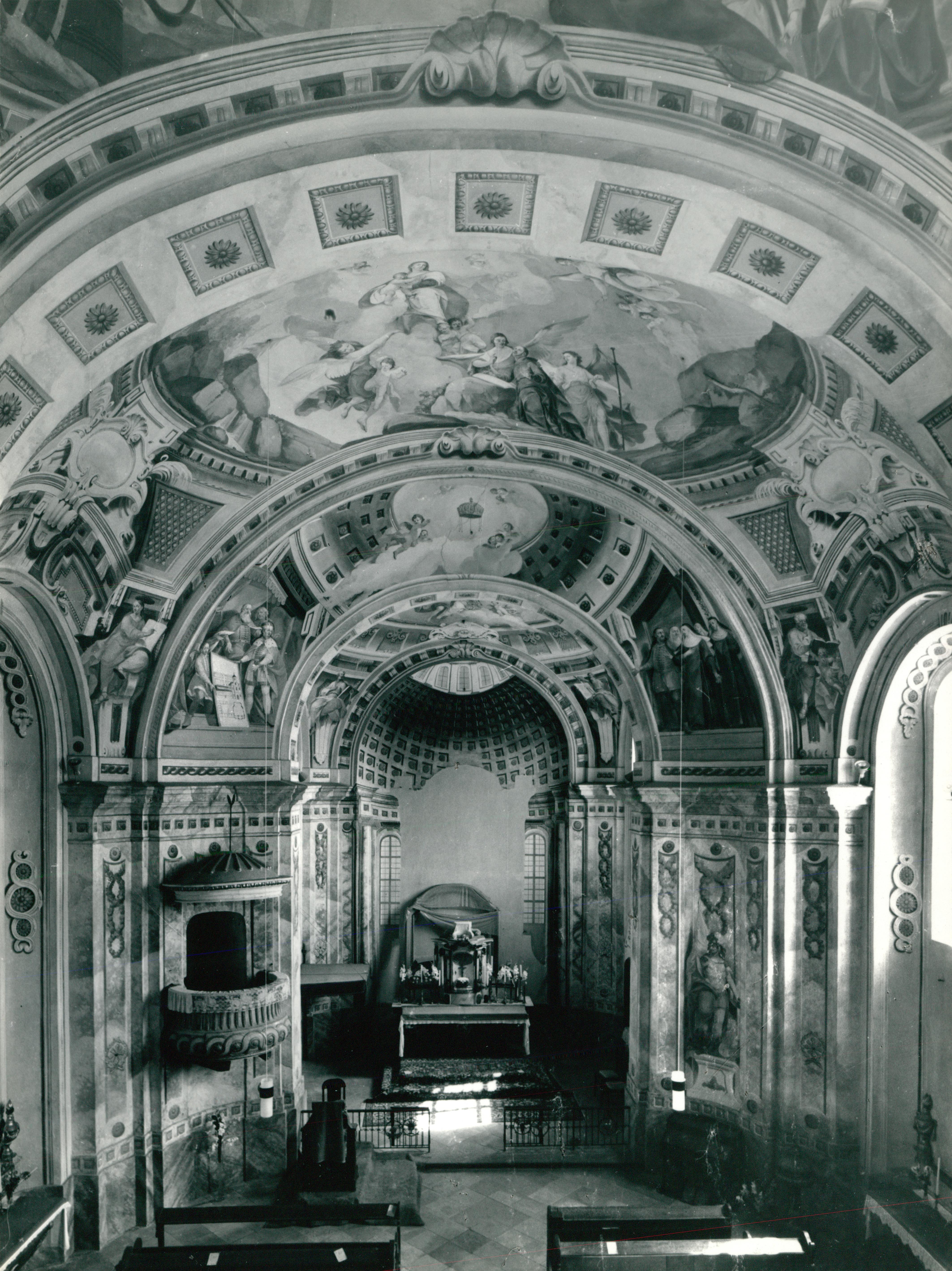 A balatonalmádi Loyolai Szent Ignác-templom állapotfelmérése