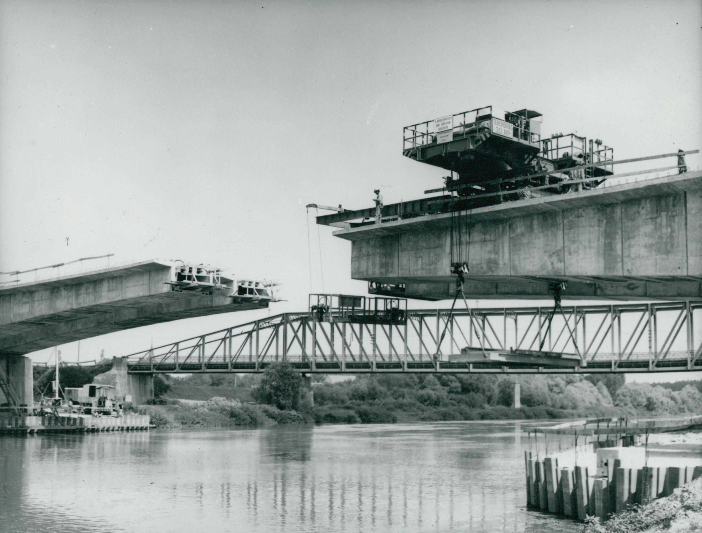 A két körösladányi Sebes-Körös híd