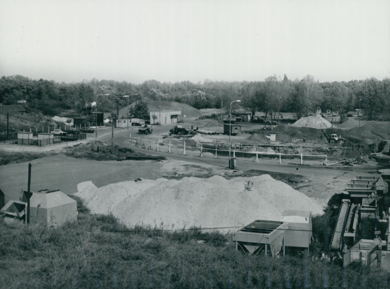 A Lőrinci úti aszfaltgyártó telep
