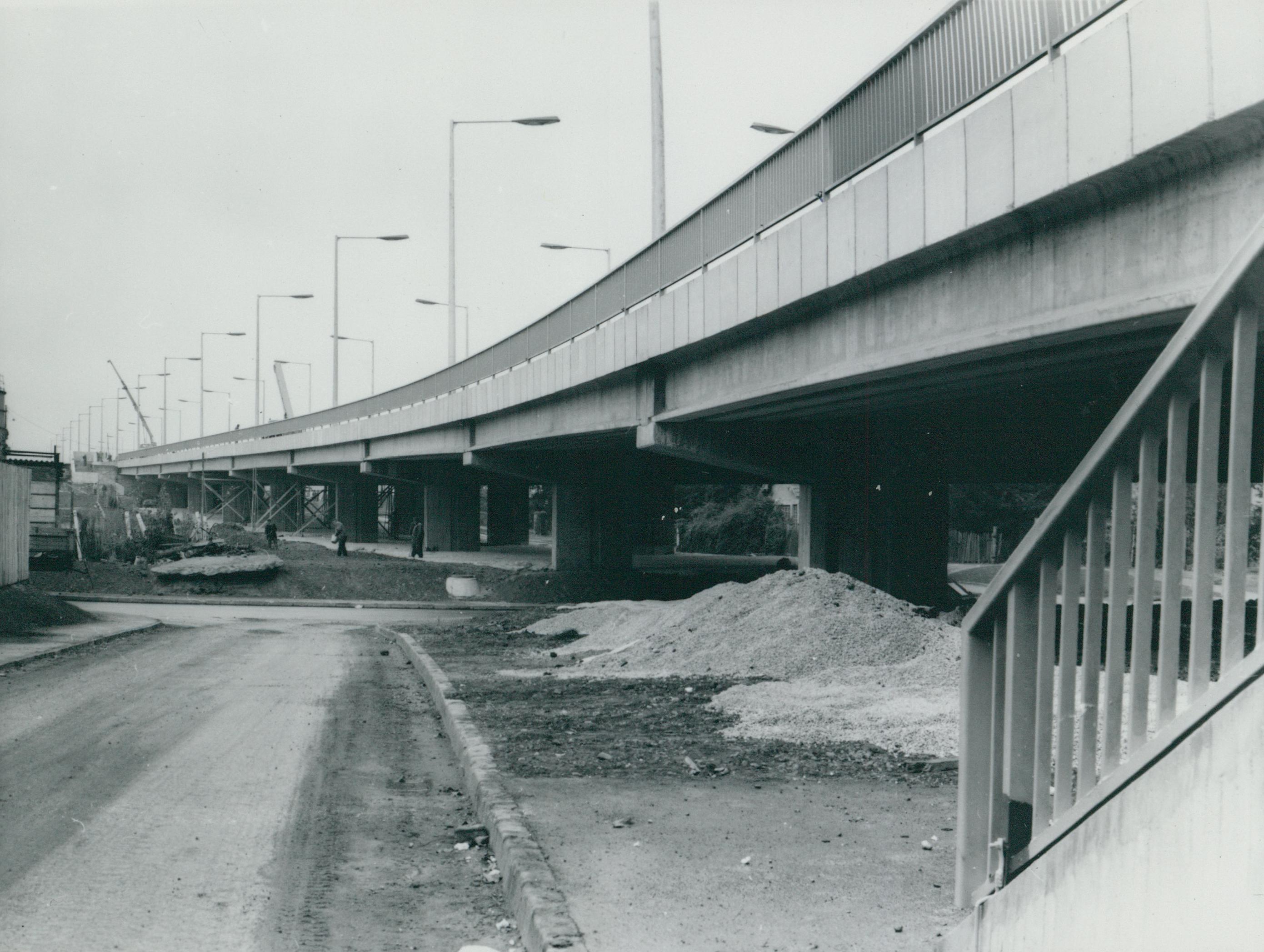 A szegedi Bertalan híd felhajtója