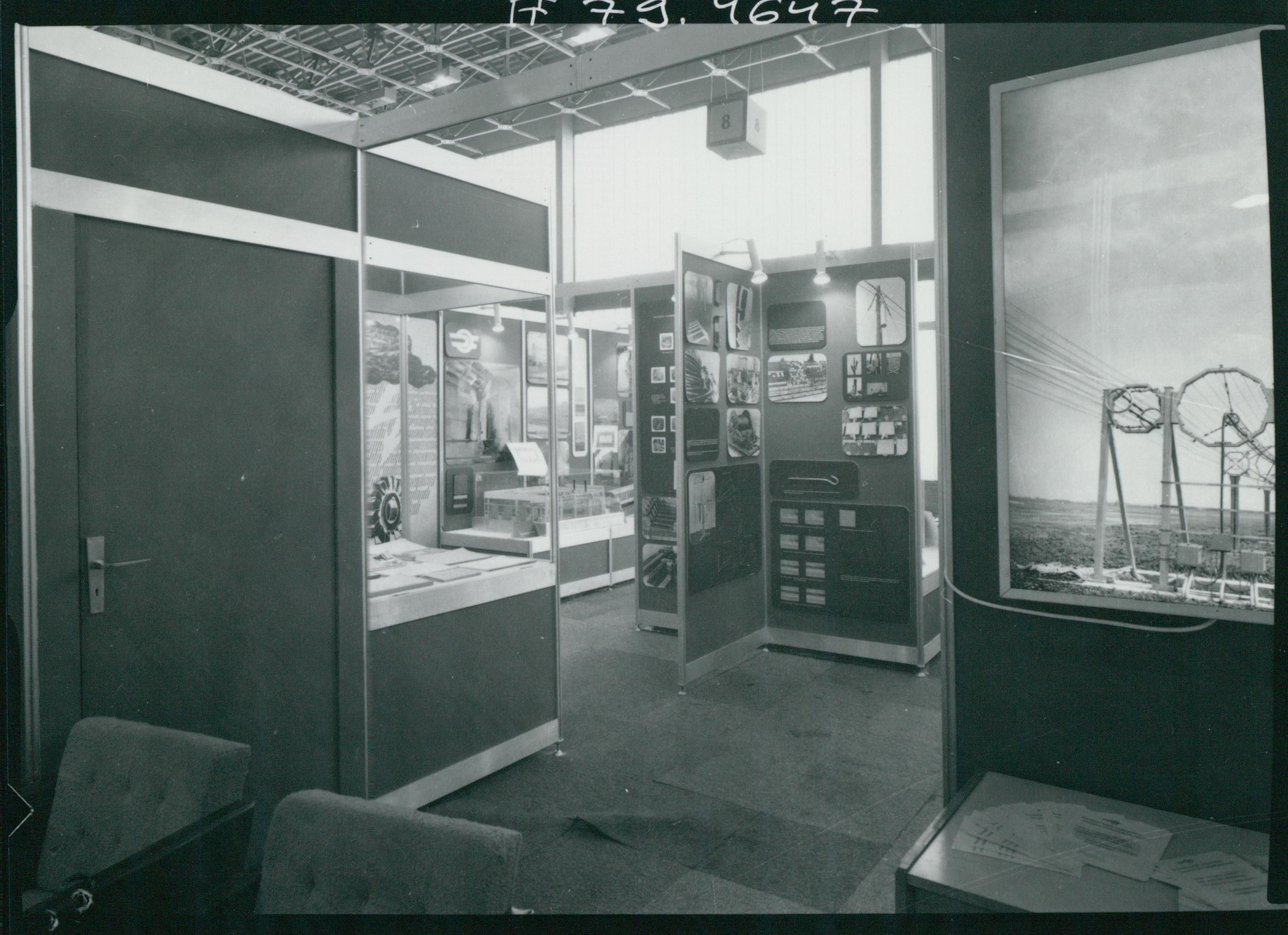Az 1979-es HUNGAROKORR Nemzetközi Korrózióvédelmi Kiállítás standjai