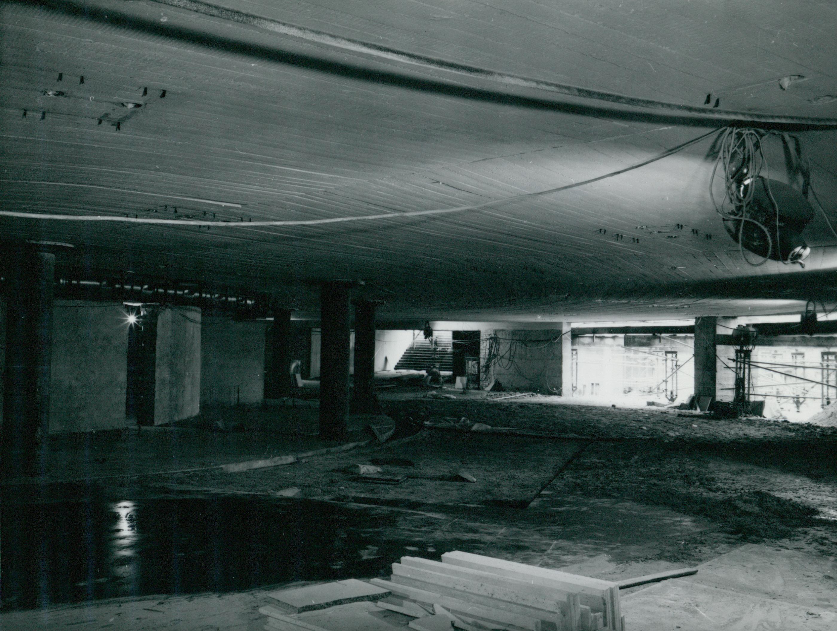Épülő aluljáró a 3-as metró Népliget megállójánál
