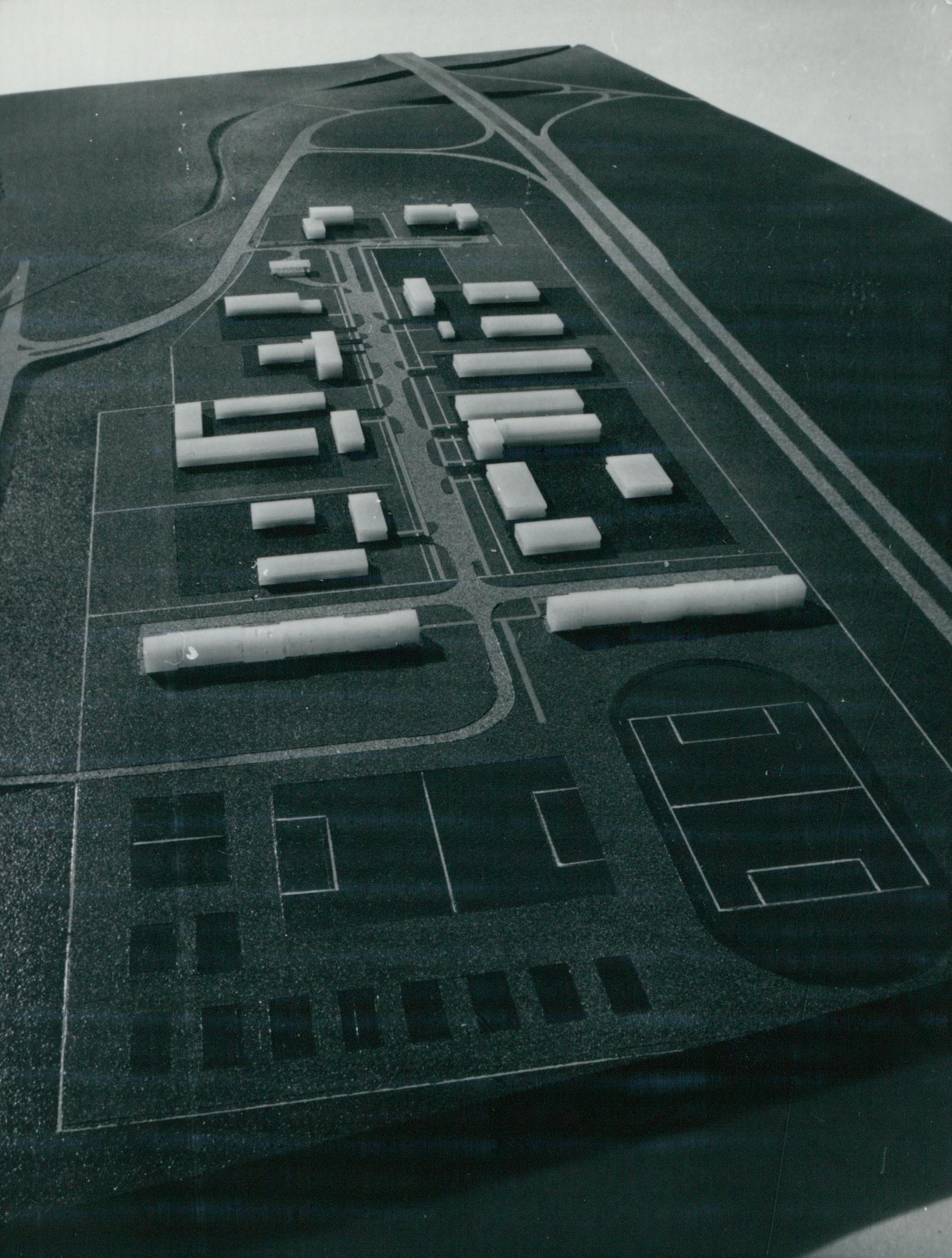 A törökbálinti üzemeltetési bázis modellje