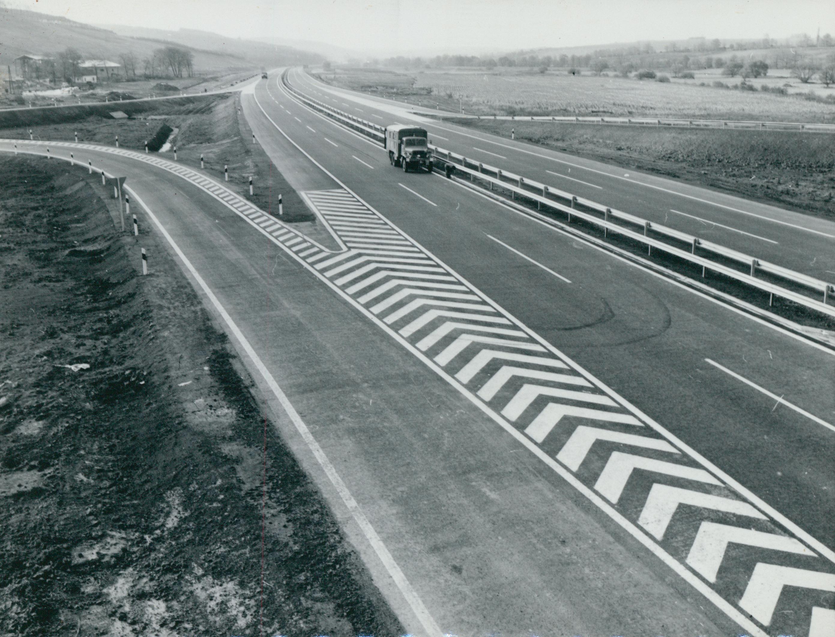 Felhajtó az M3-as autópályán