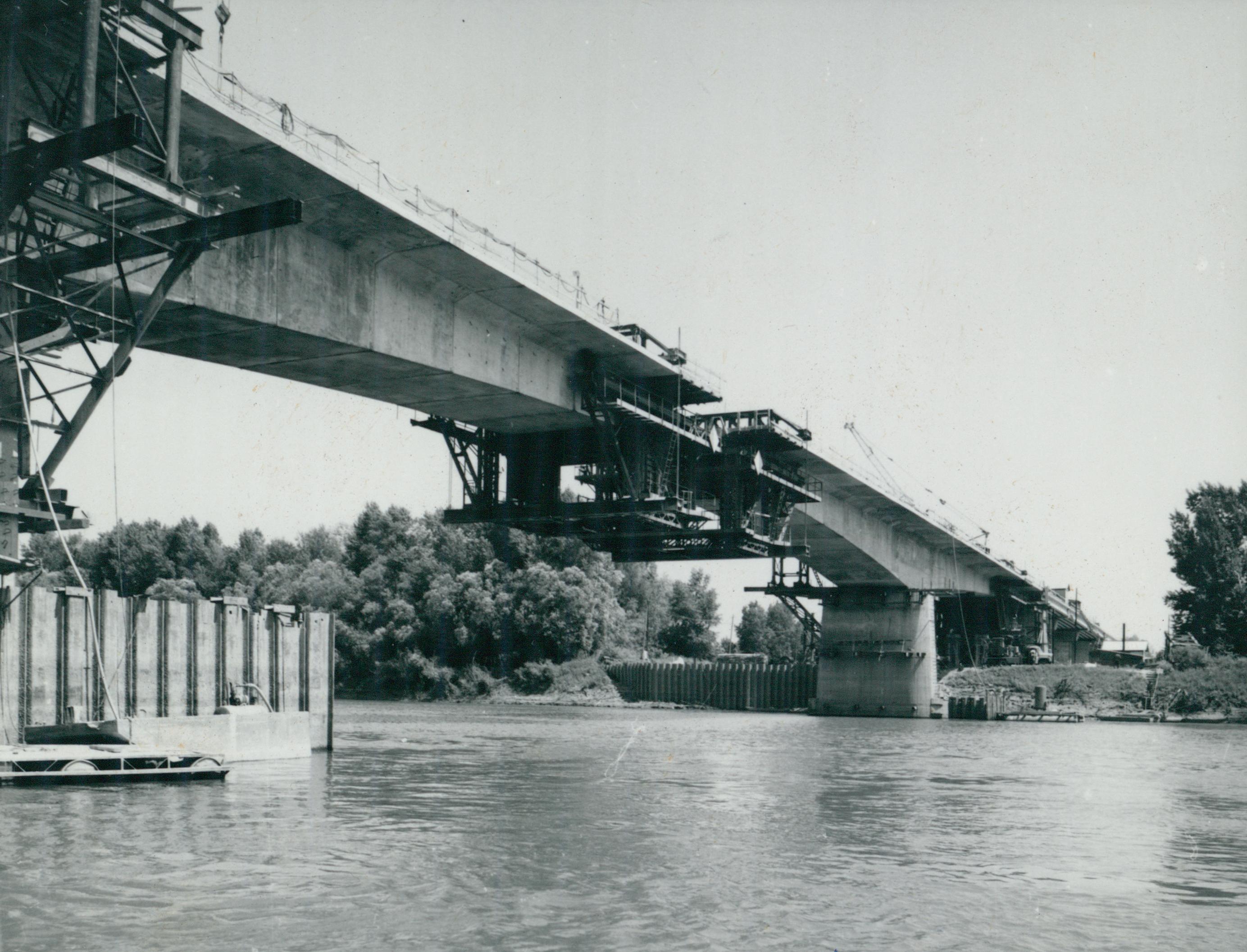 Az épülő Szentes–csongrádi közúti Tisza-híd