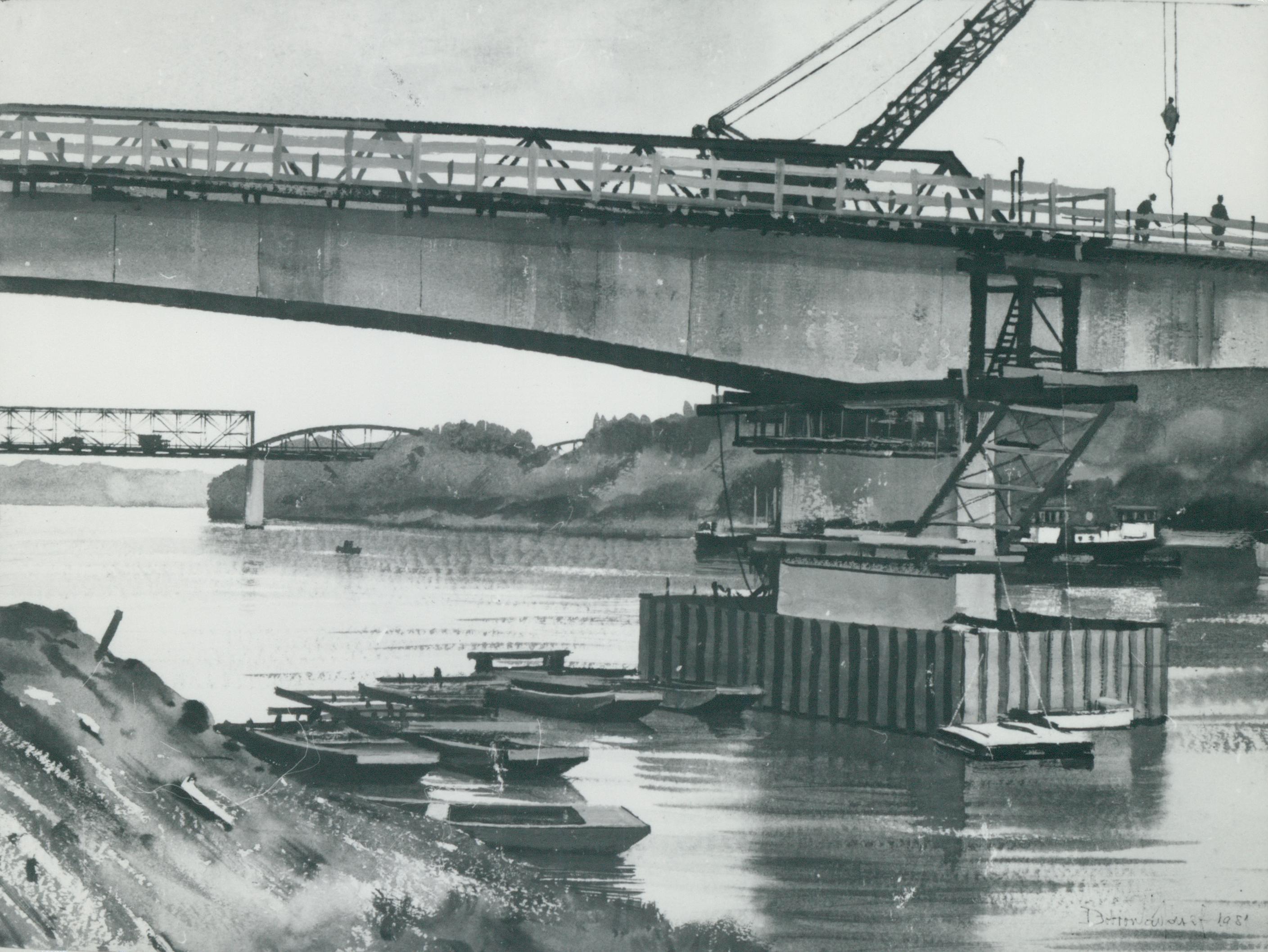 Híd építése