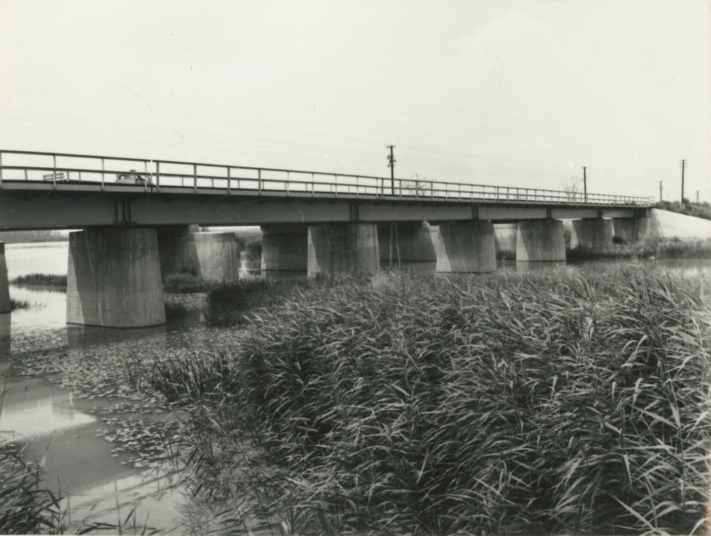 Tiszafüredi víztározók vasúti hídjai