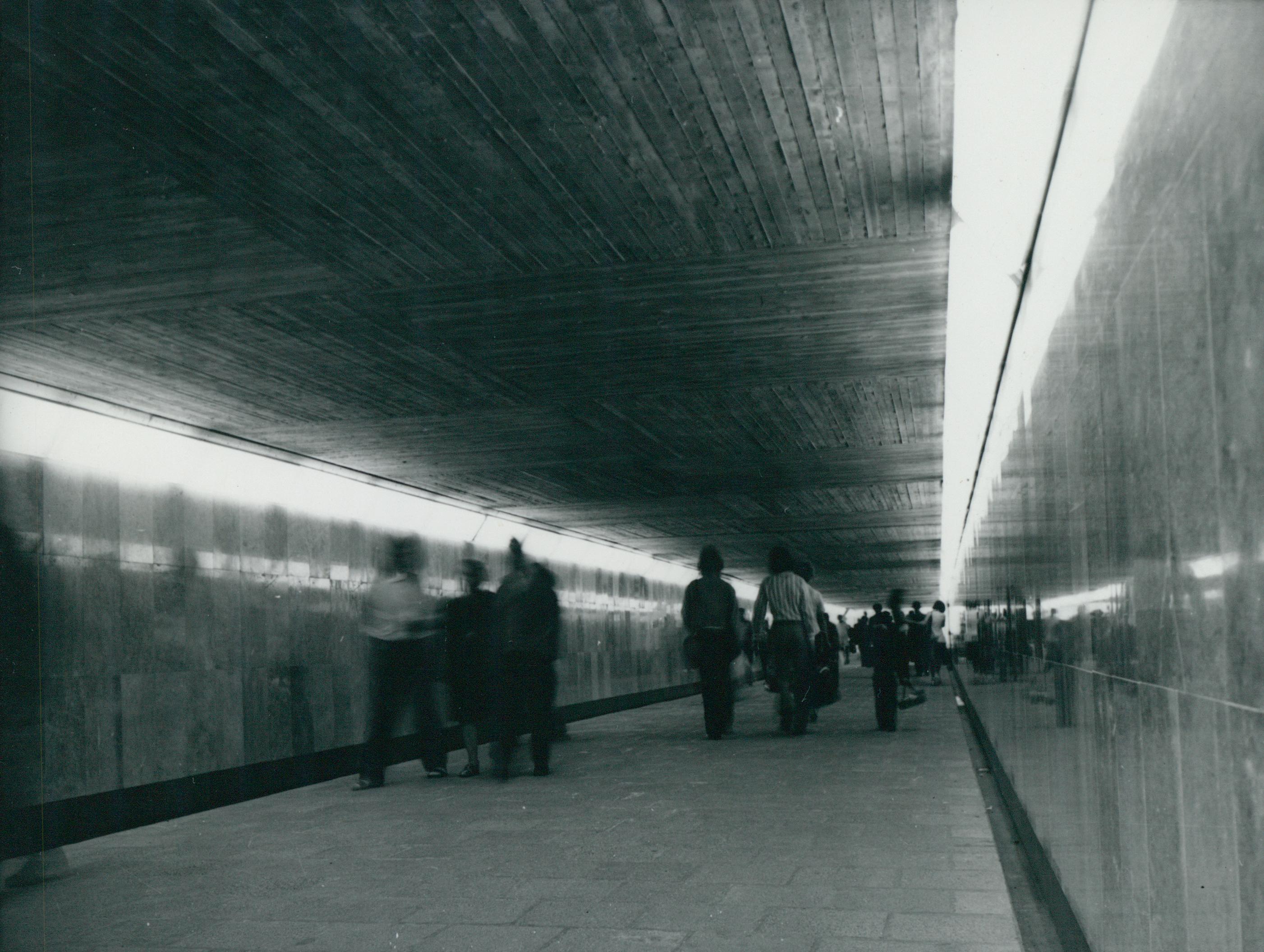 A balatonalmádi vasútállomás aluljárója