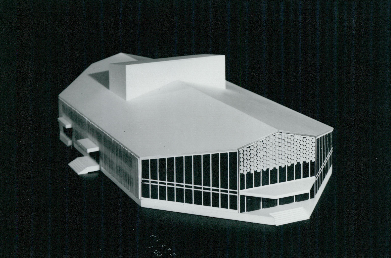 Az Uszty-Ilim művelődési ház modellje