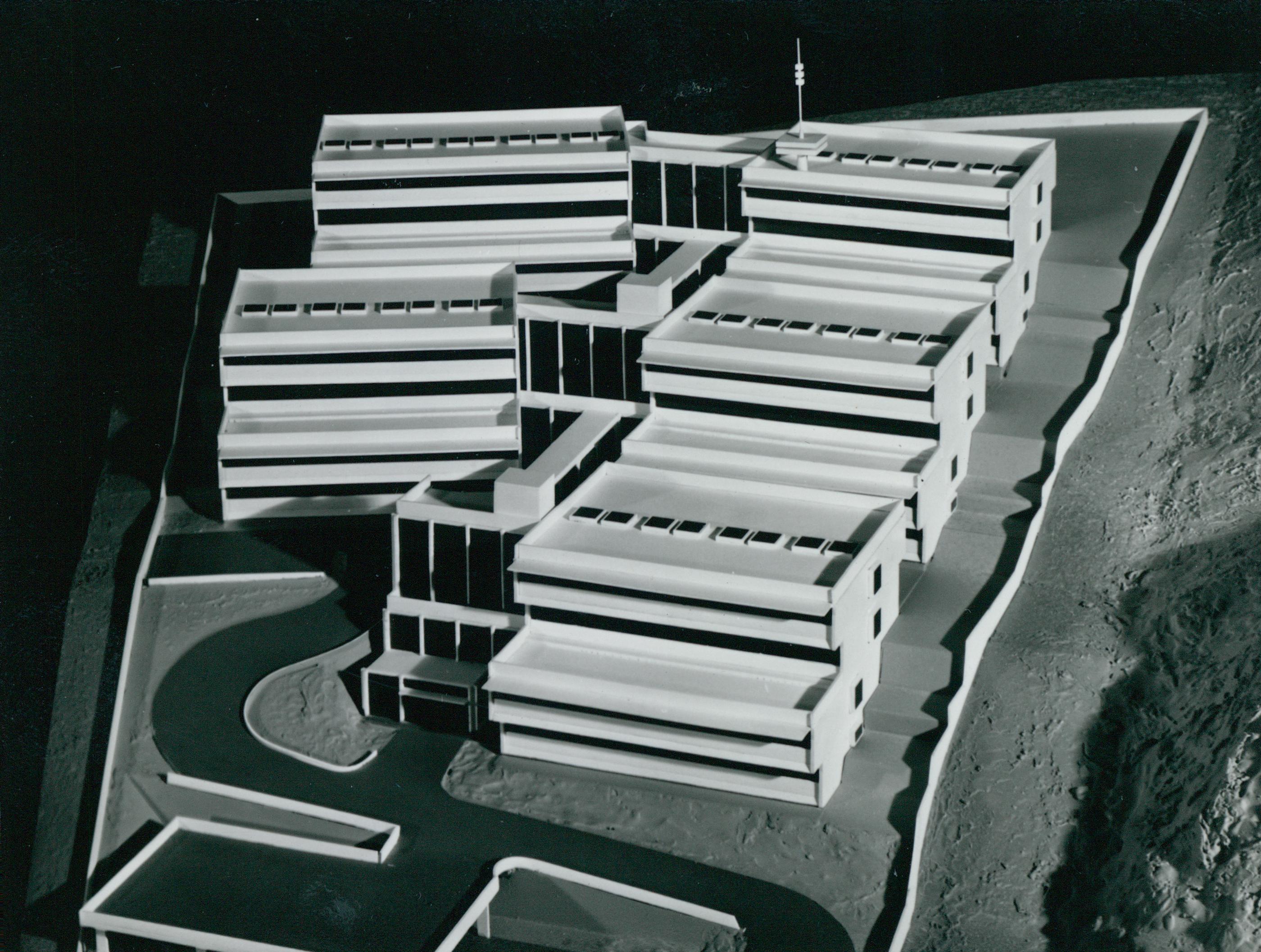 A Posta kísérleti kutató állomásának modellje