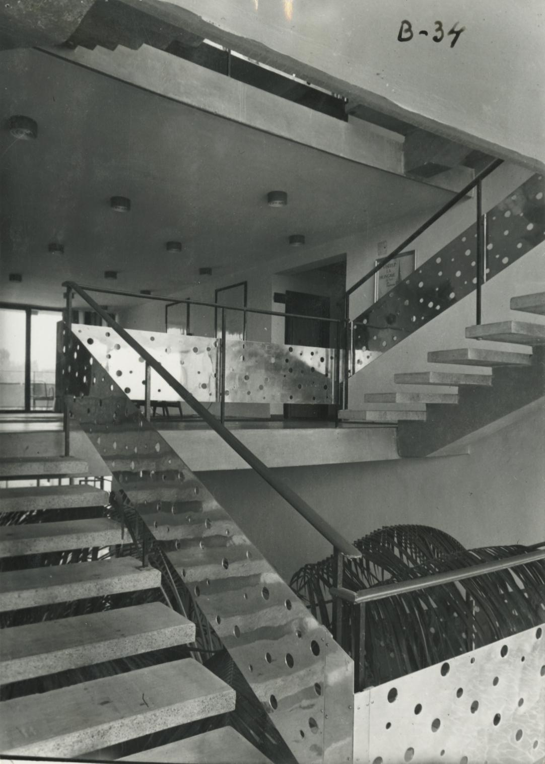 A Tihany Szálló lépcsője