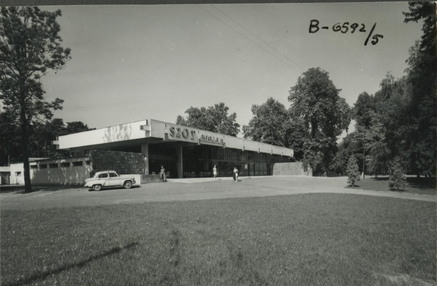 A földvári SZOT Központi Étterem