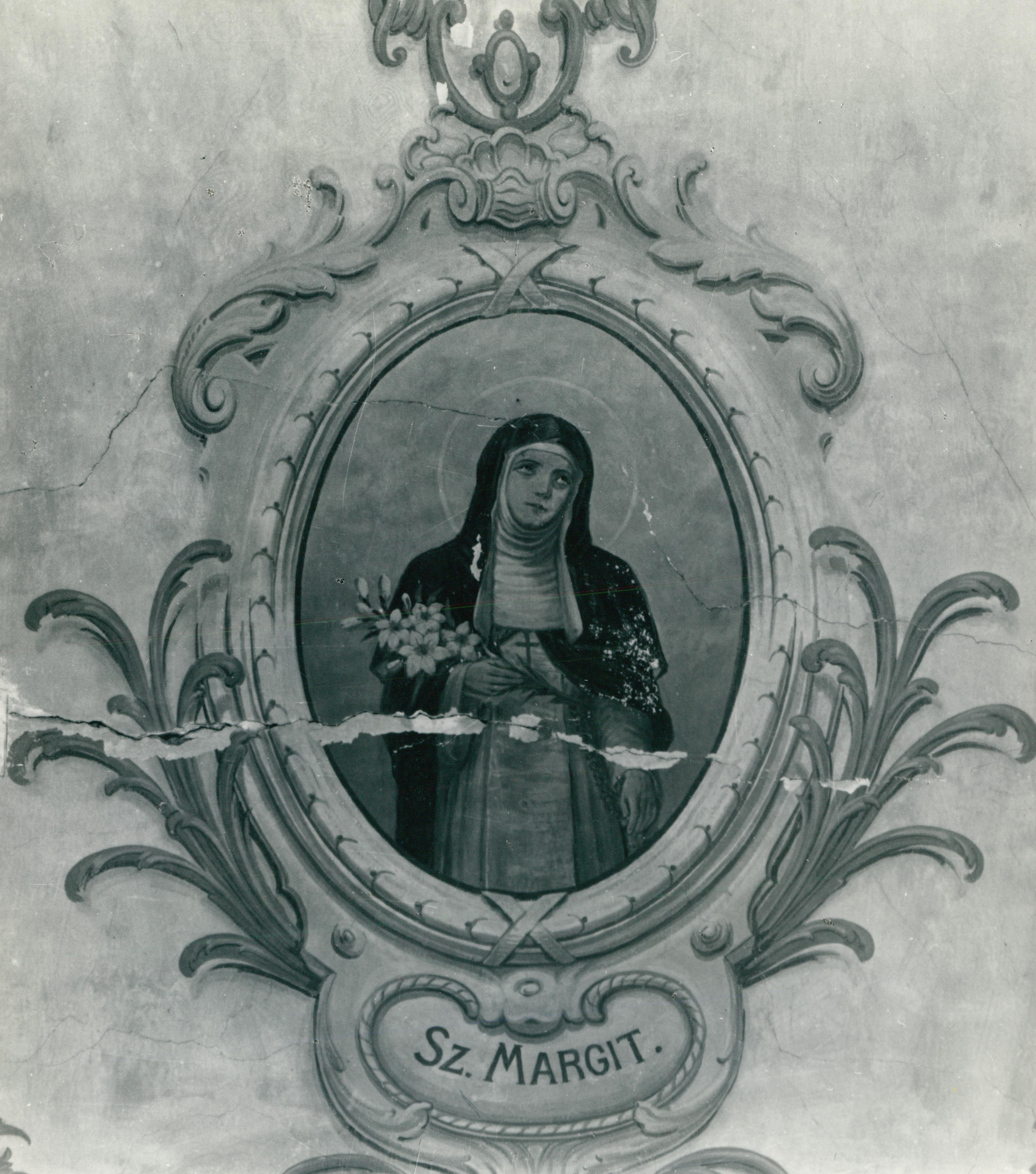 Árpád-házi Szent Margit freskó