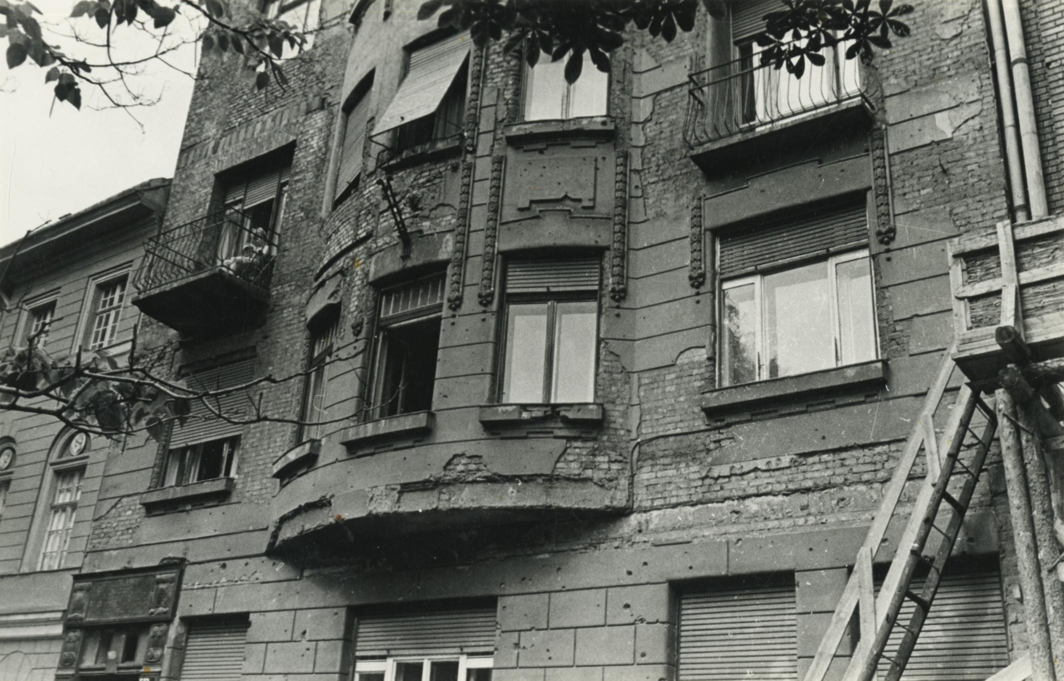 Budapest, Ferenczy István utca 14. számú épület állapotvizsgálata