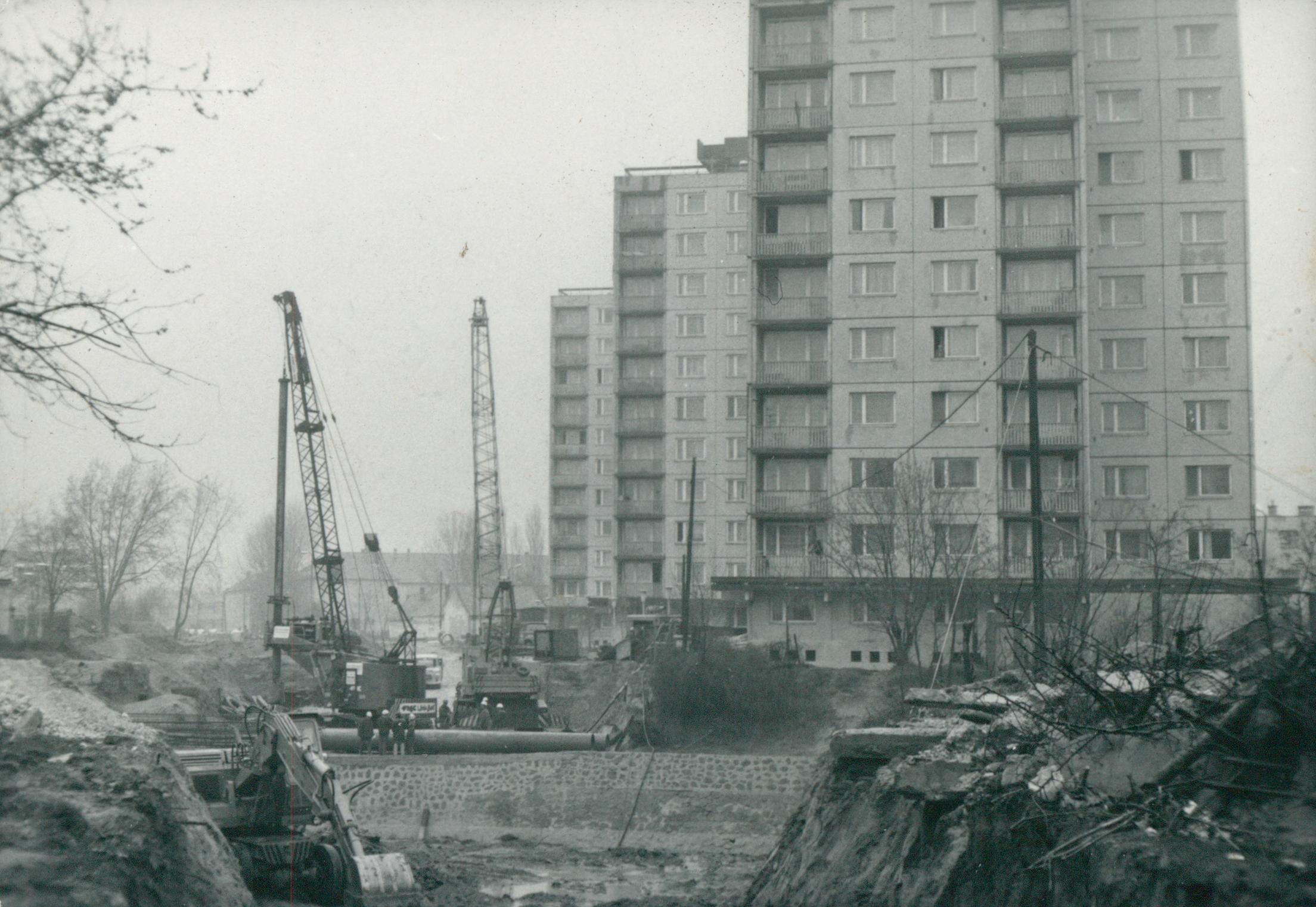 Állagvizsgálat a Sió csatorna hídjának alapozásánál