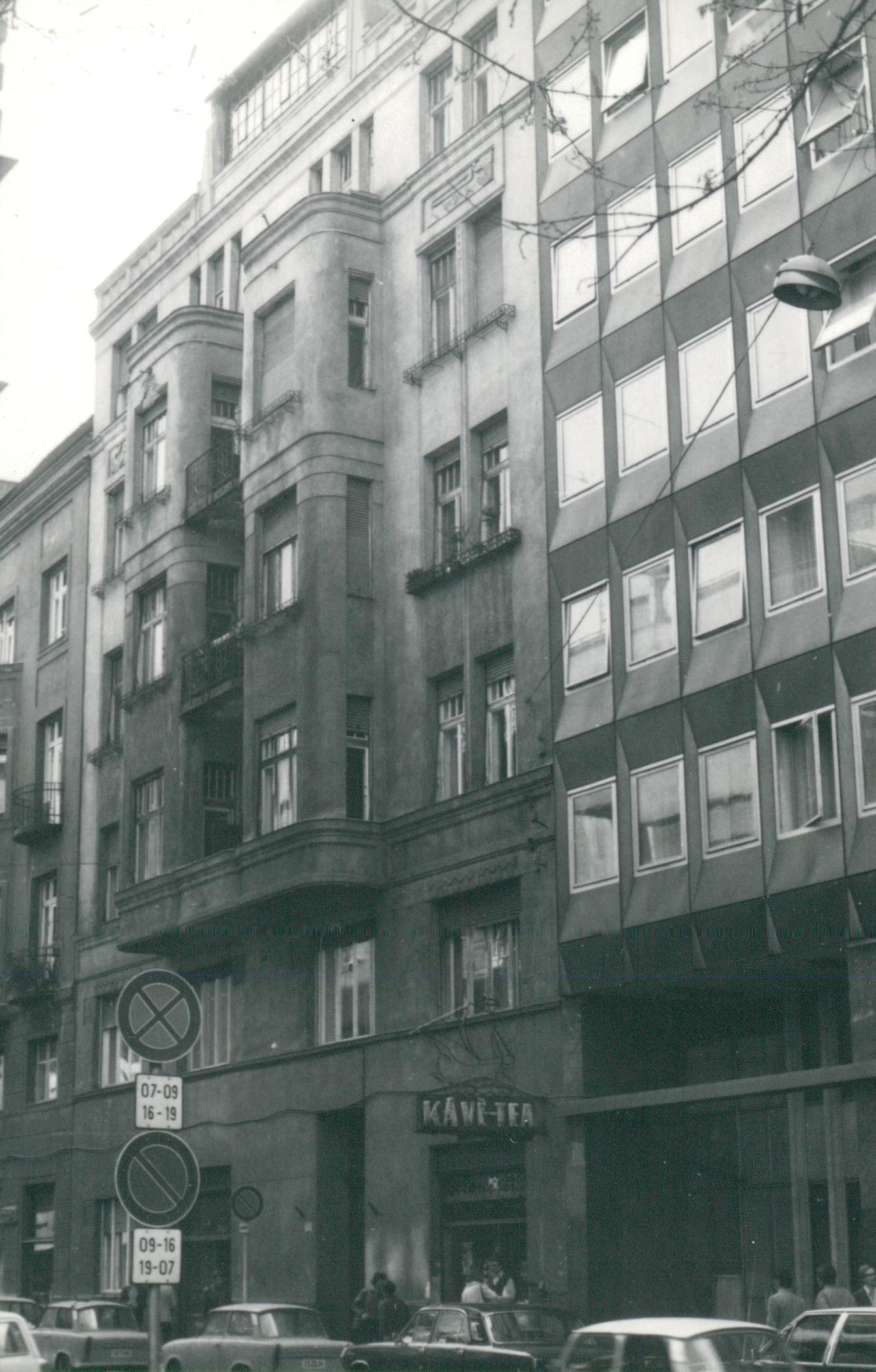 Budapest, Fő utca 42. épületének állagvizsgálata