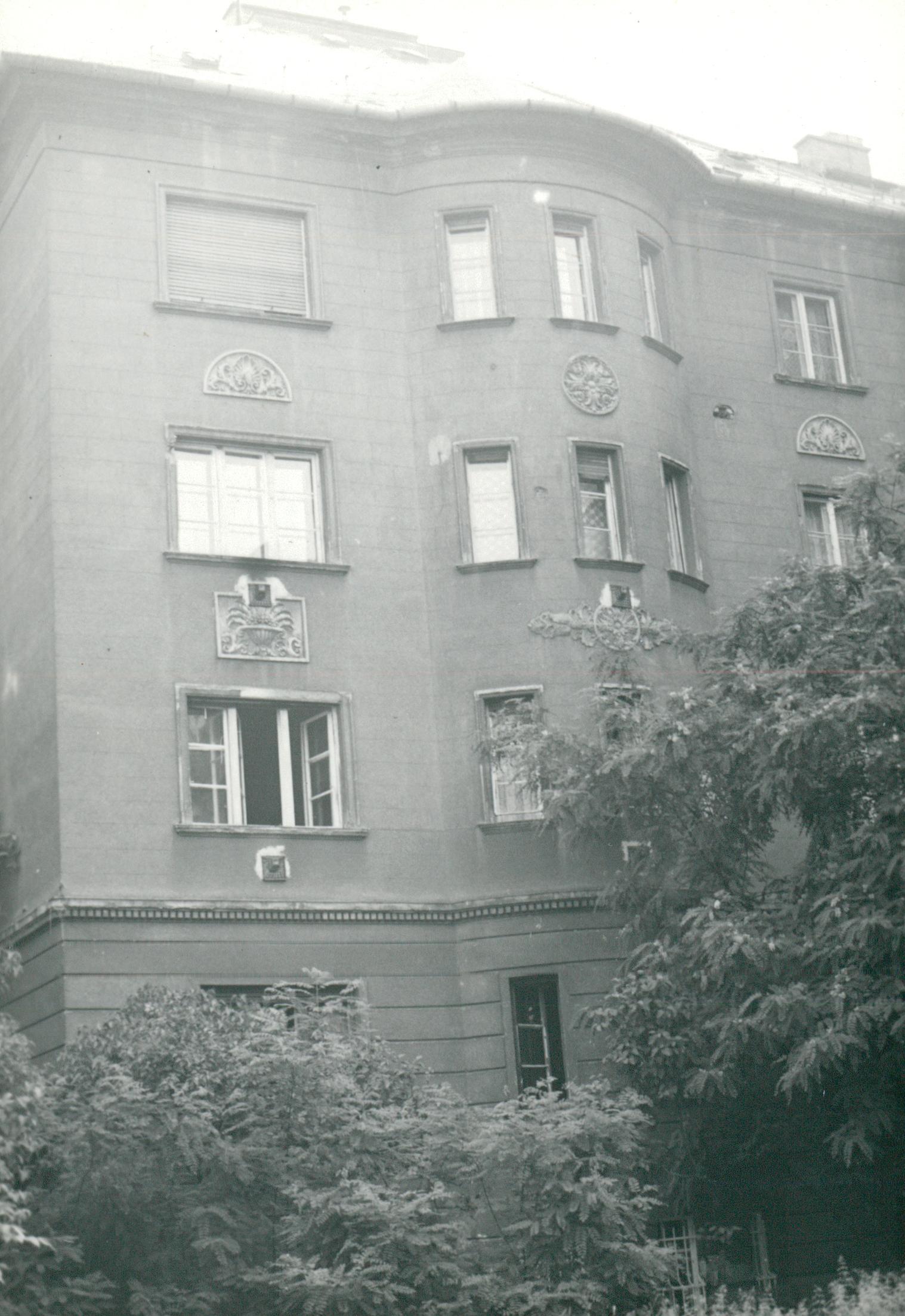 Budapest, Visegrádi utca 32-34. épület állagvizsgálata