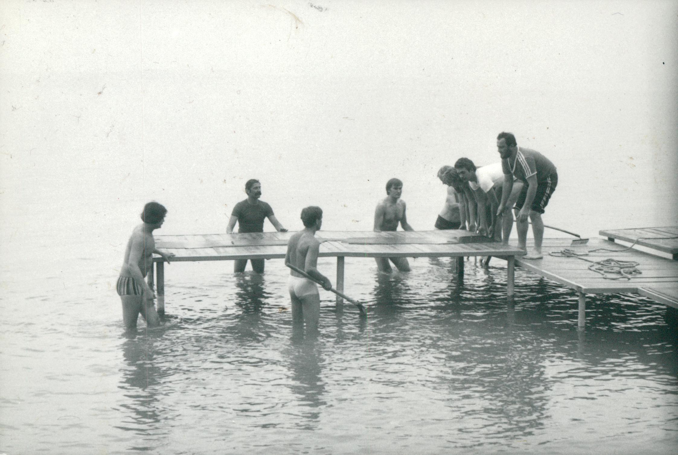KISZ-tábor Siófokon