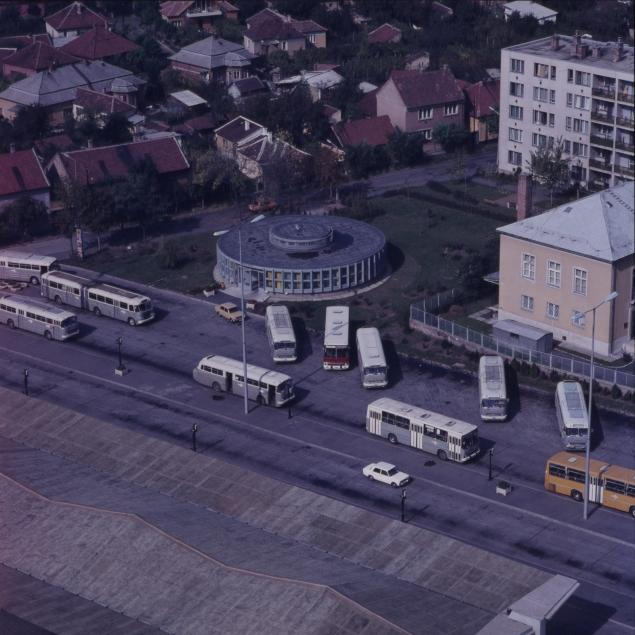 A szolnoki autóbusz-állomás
