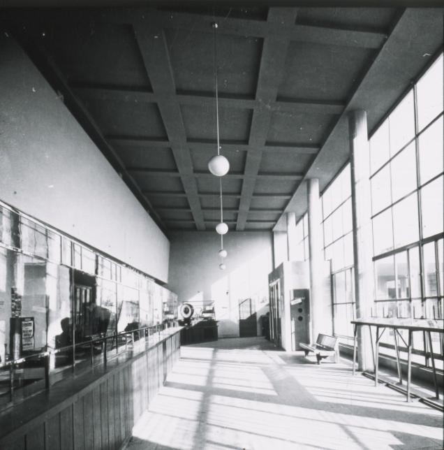 A Csepeli Posta belső tere