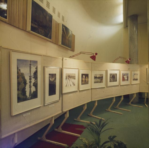 Dobroszláv József akvarelljeinek kiállítása