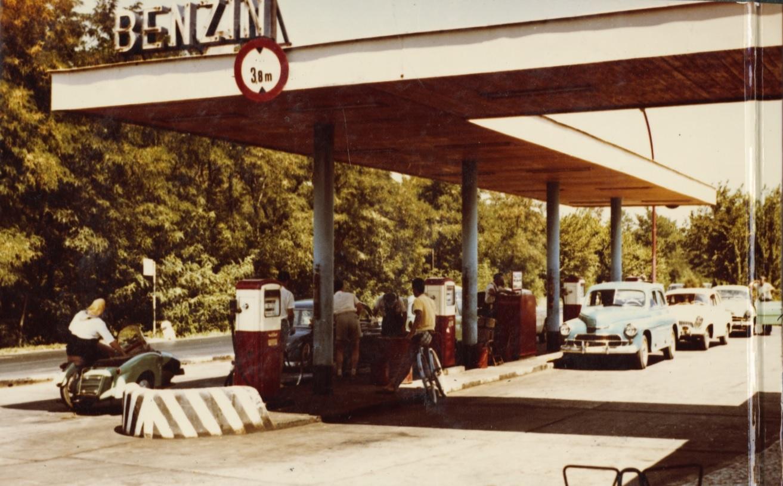 Benzinkút Siófokon