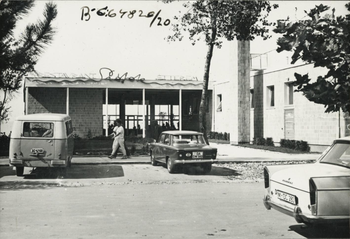 A Siófok Étterem épülete
