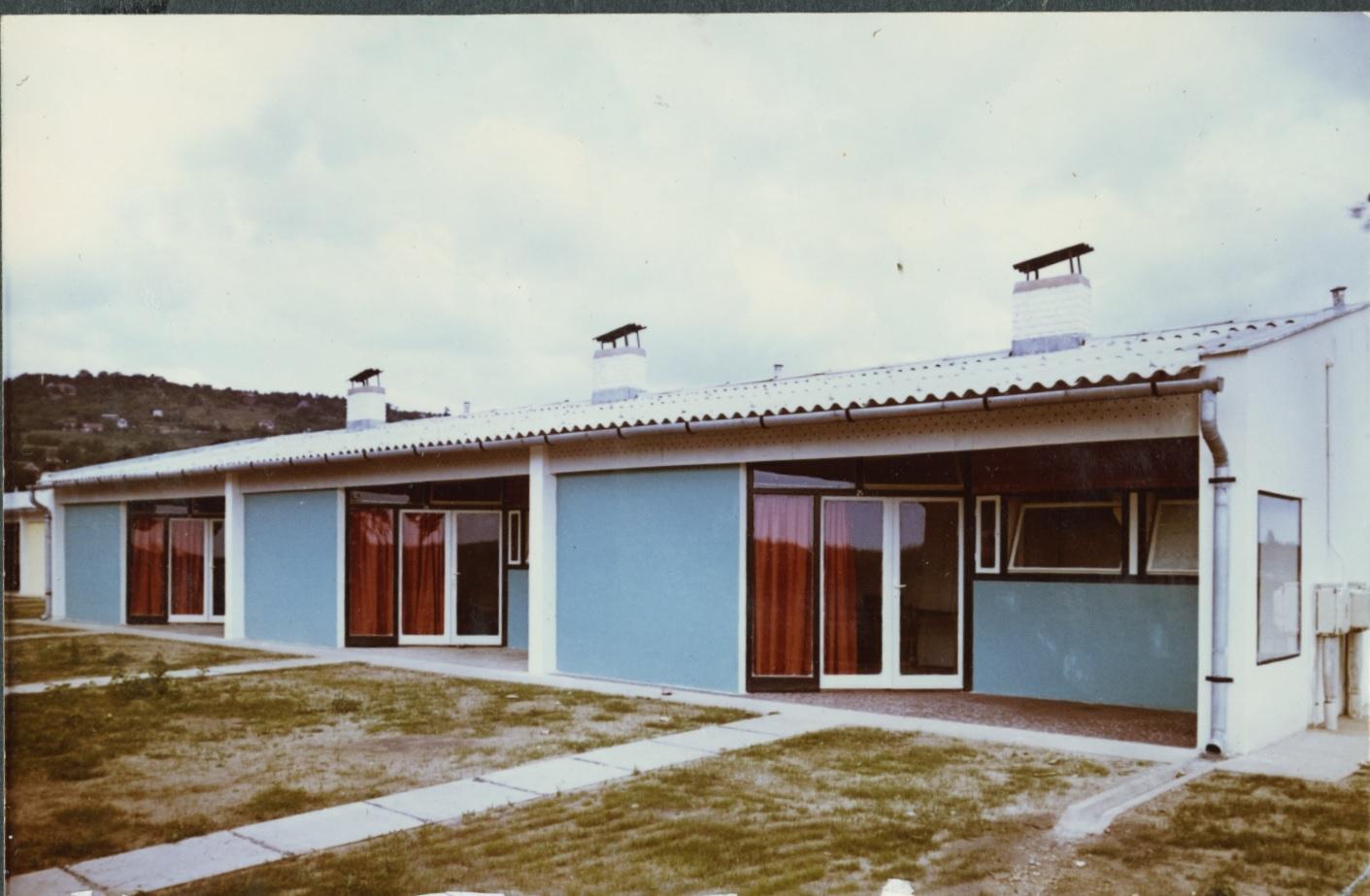 A balatonalmádi Lottó Üdülőtelep épülete