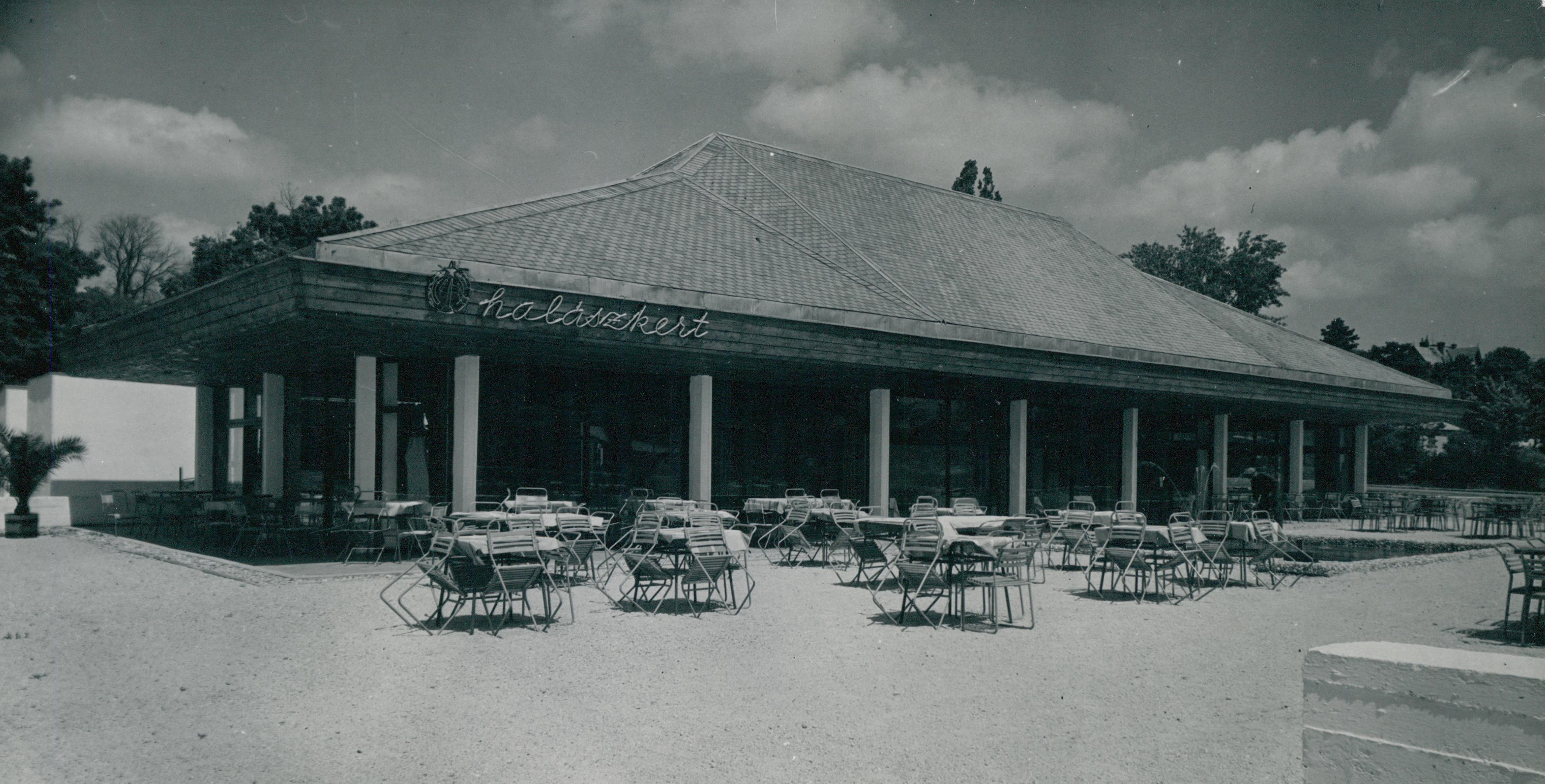 A füredi Halászkert Étterem