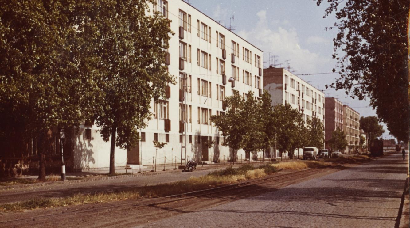 Nyíregyházi utcakép