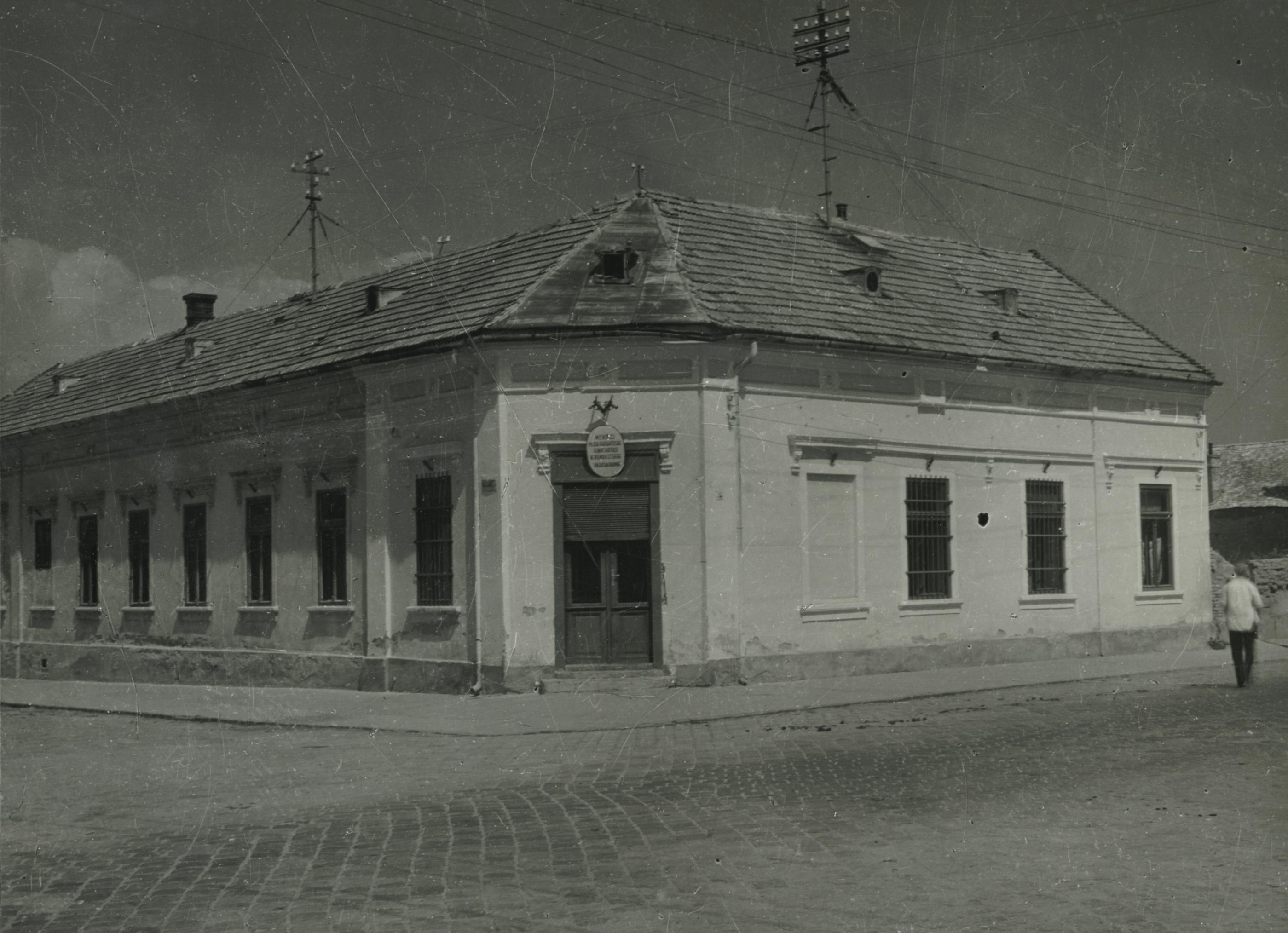 A balassagyarmati Rákóczi fejedelem útja 46. szám alatti saroképület