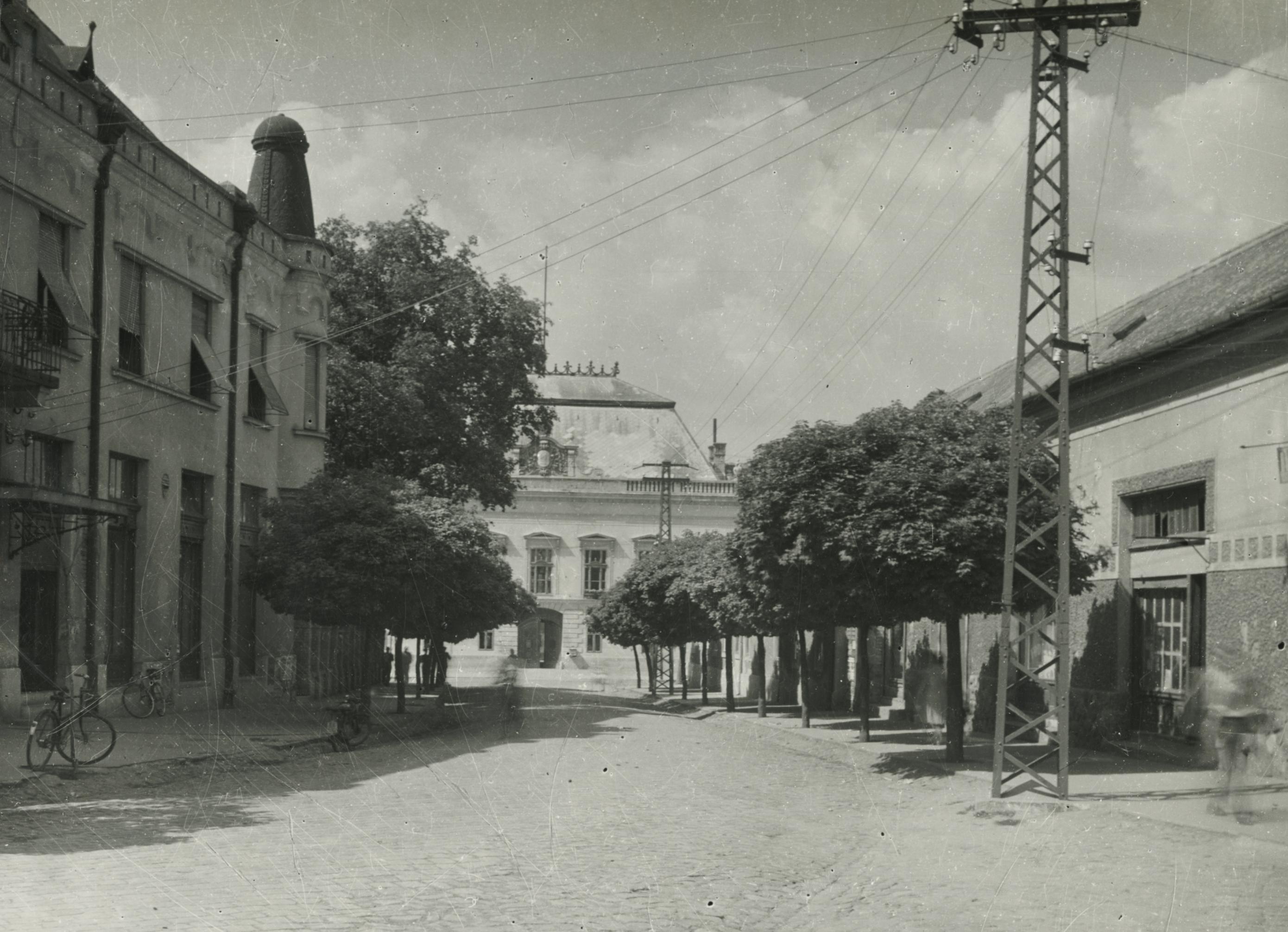 A balassagyarmati Bajcsy-Zsilinszky utca részlete