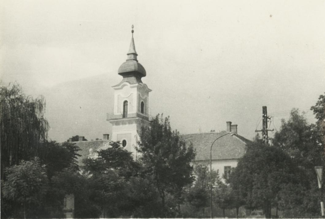 A tanácsház tornya Nagykőrösön