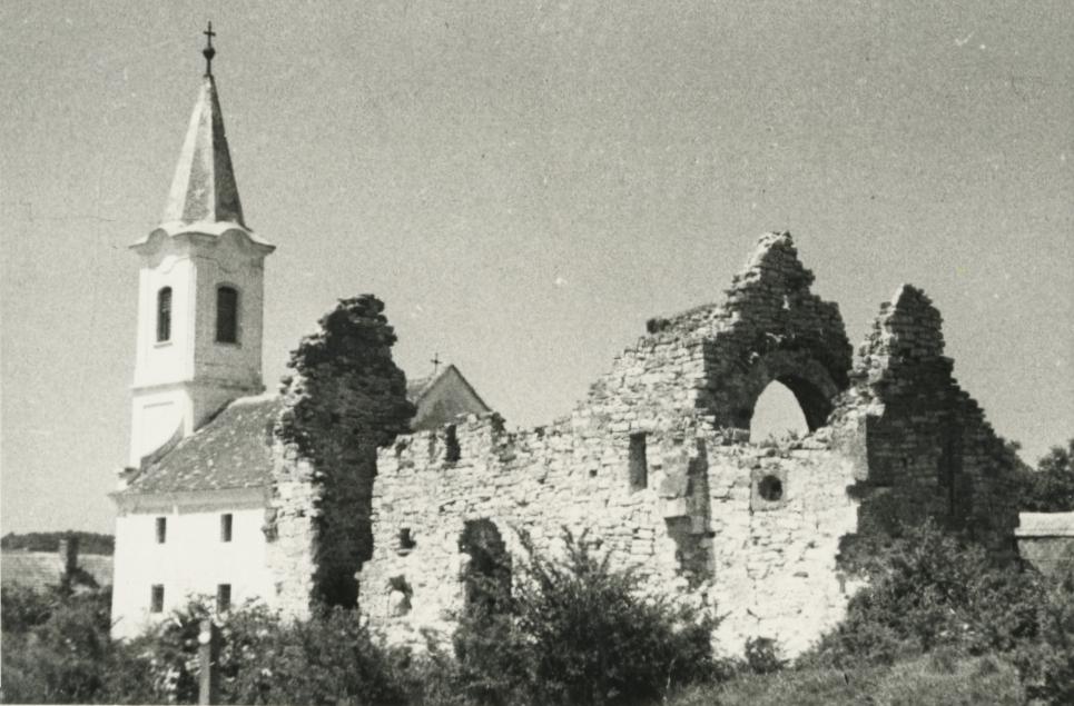 A felsődörgicsei evangélikus templom és templomrom