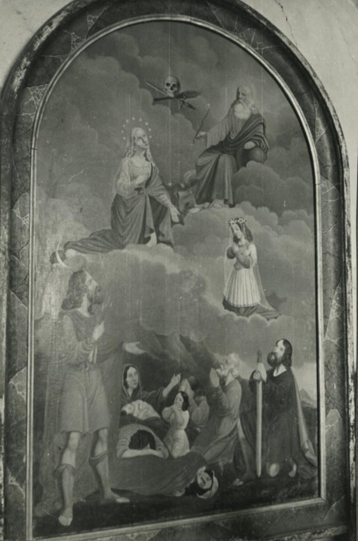 A felsőörsi római katolikus templom oltárképe