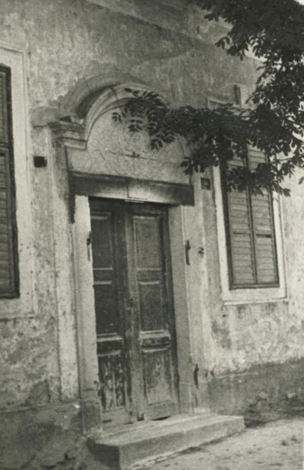A felsőörsi préposti lak kapuja