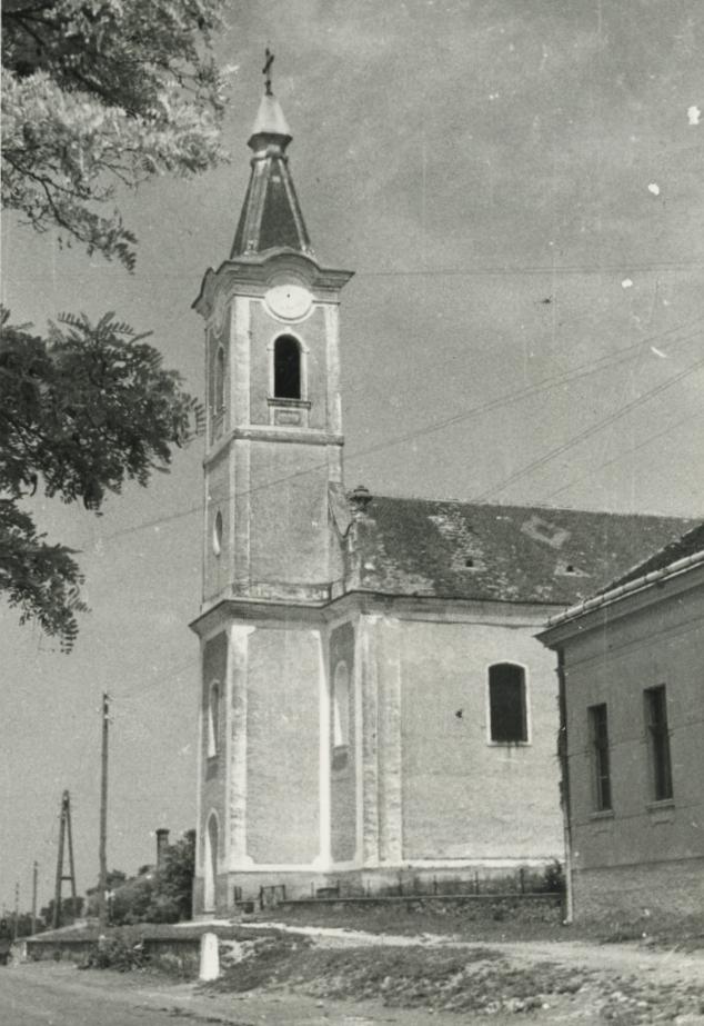 A gyulakeszi római katolikus templom