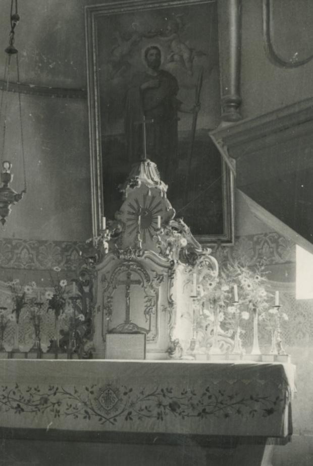 A kékkúti római katolikus templom oltára