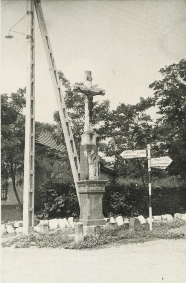 Kőkereszt Kékkúton (1865)