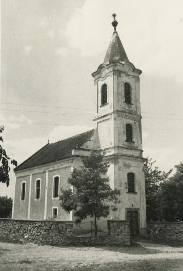A mencshelyi református templom