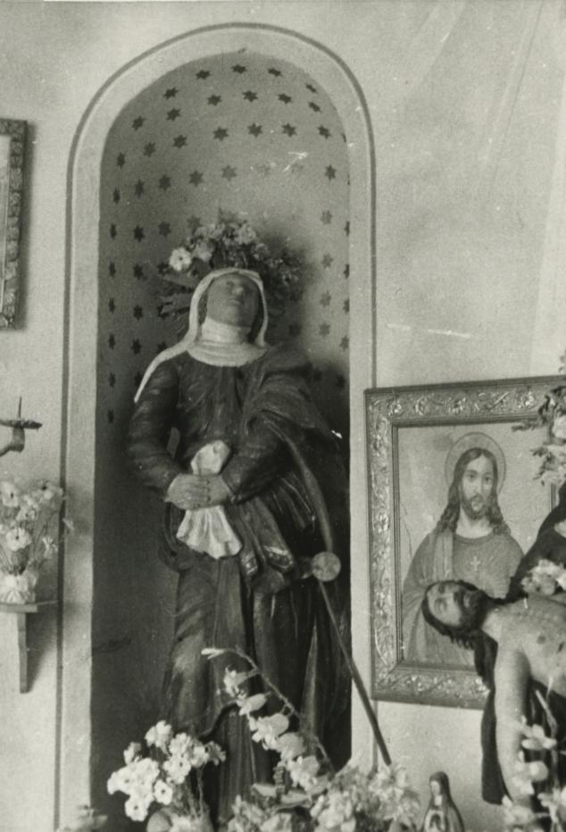 A barnagi Kálváriakápolna oltárszobra