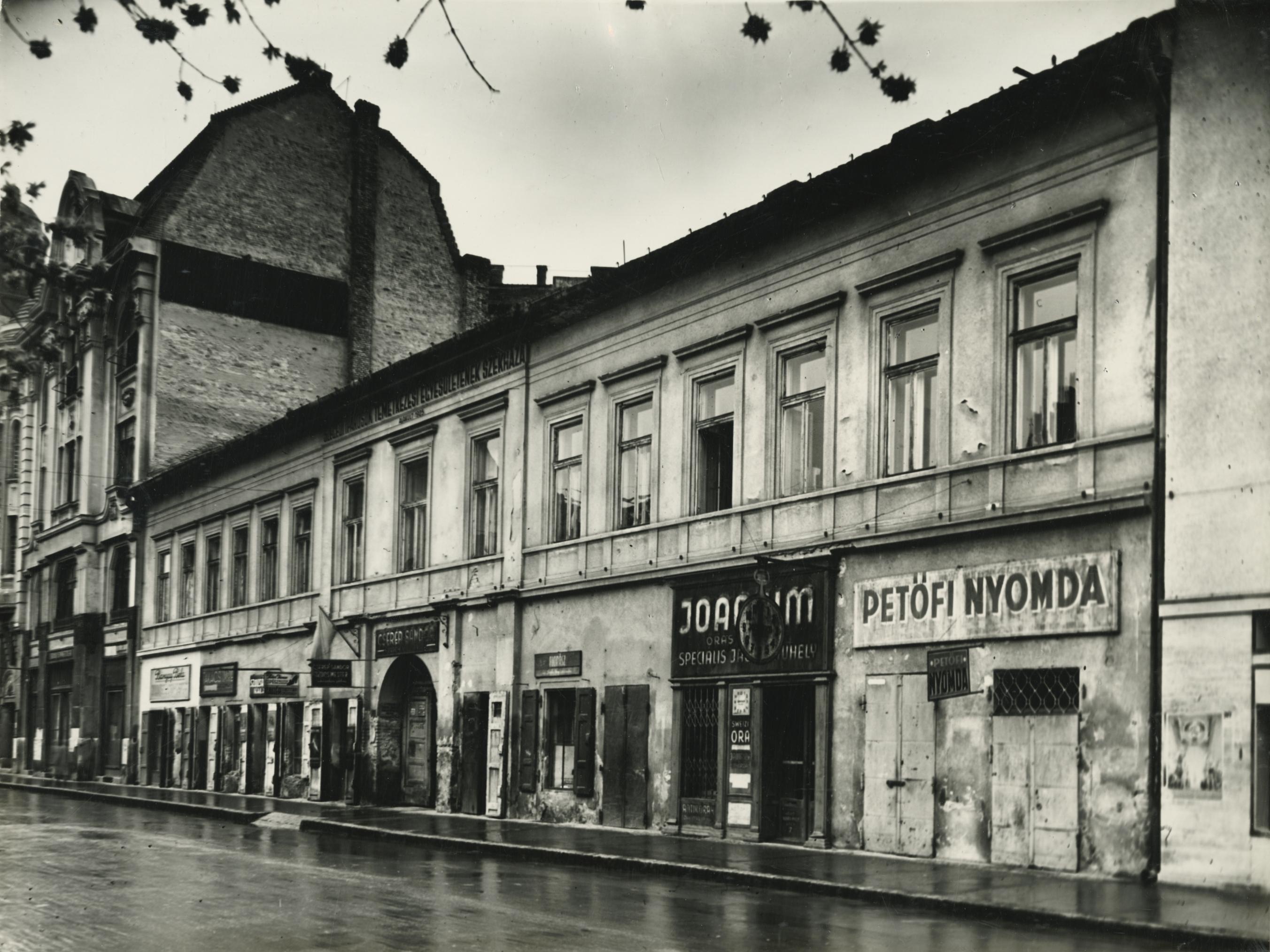 A szegedi Horváth Mihály utca 7. lakóháza