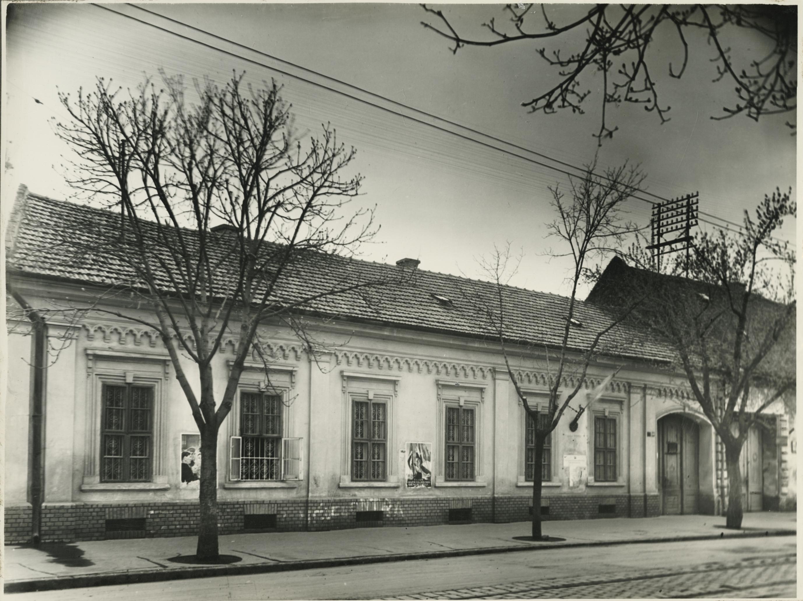A szegedi Kálvária utca 4. lakóháza