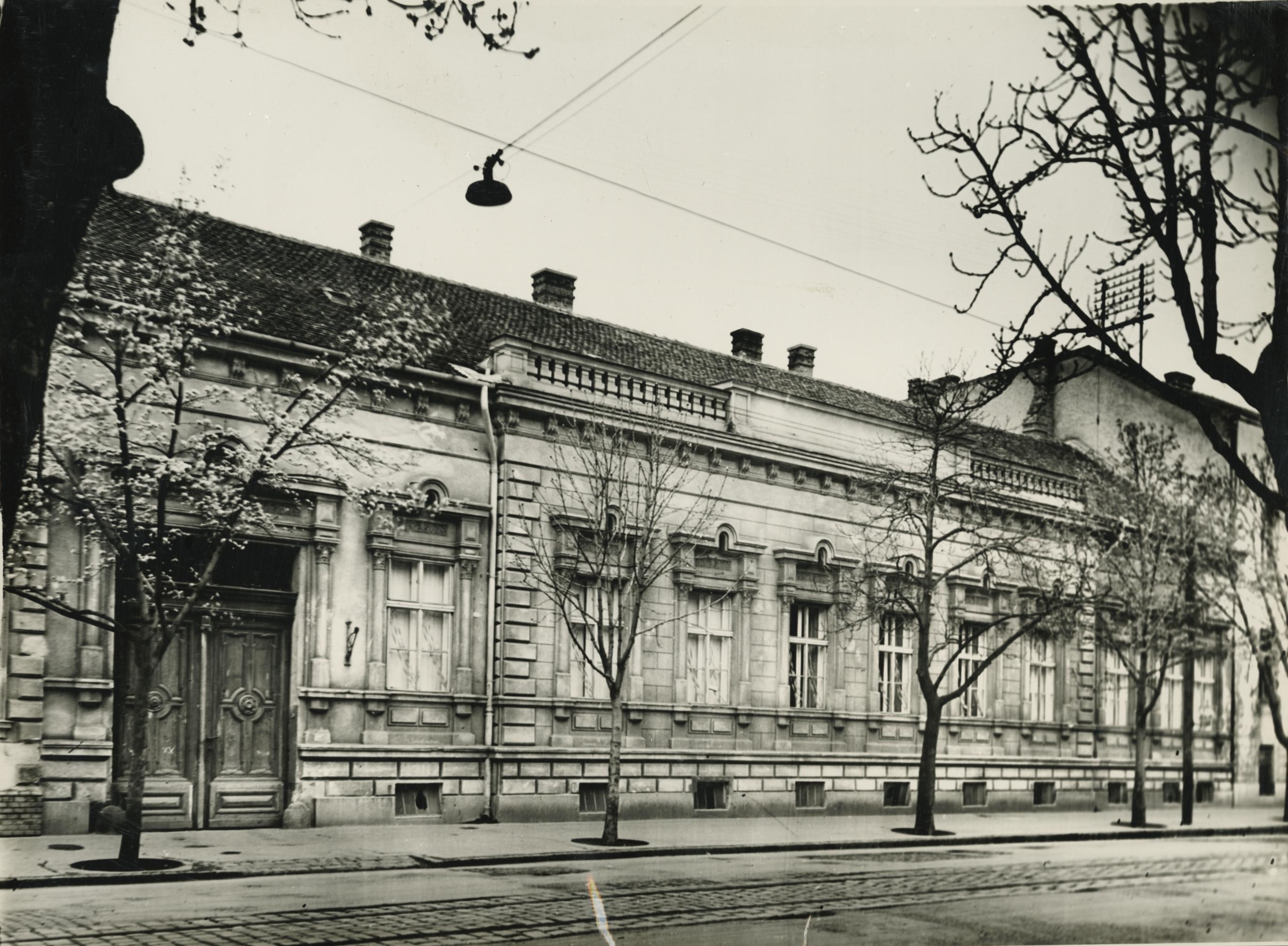 A szegedi Kálvária utca 8. lakóháza