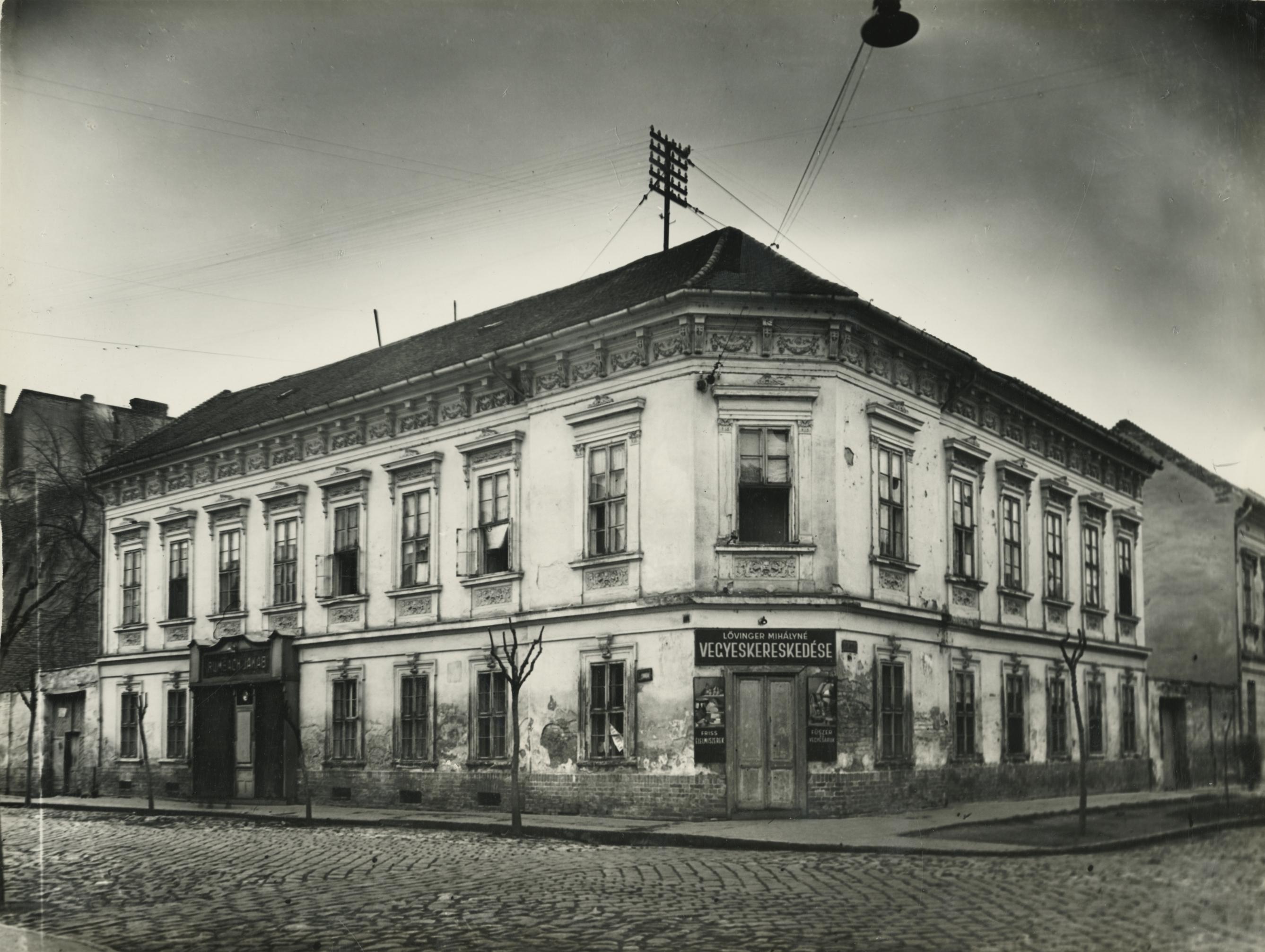 A szegedi Polgár utca 20. számú lakóháza