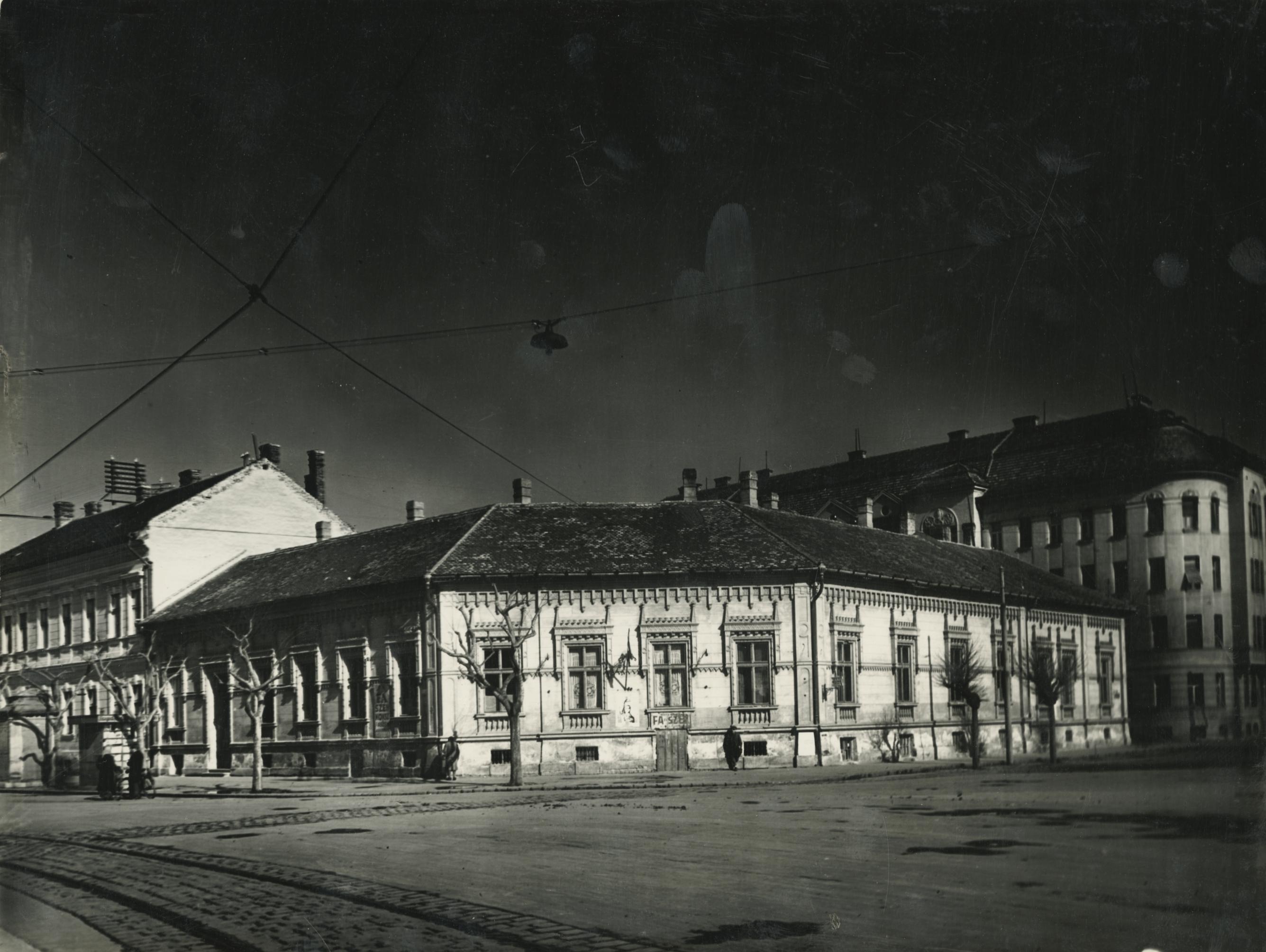 Az egykori Sztálin körút (ma Tisza Lajos körút) 7. számú lakóház